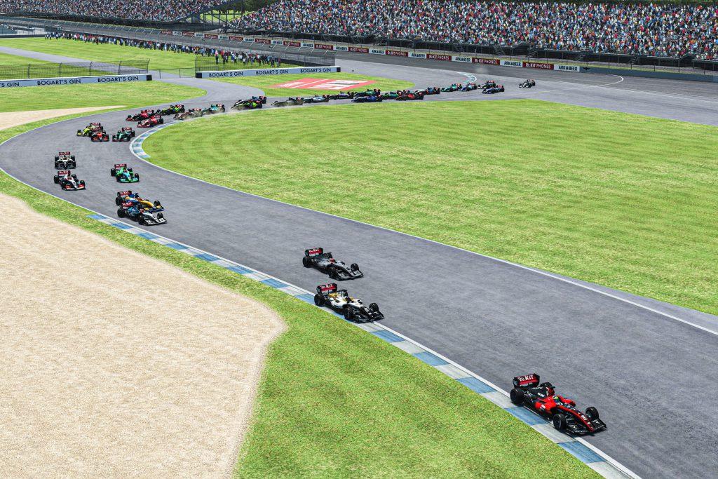 Sim Masters wins for van Buren and Brzezinski - The Race