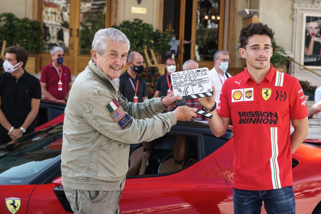 Leclerc completes Monaco Ferrari drive for short film remake - The Race
