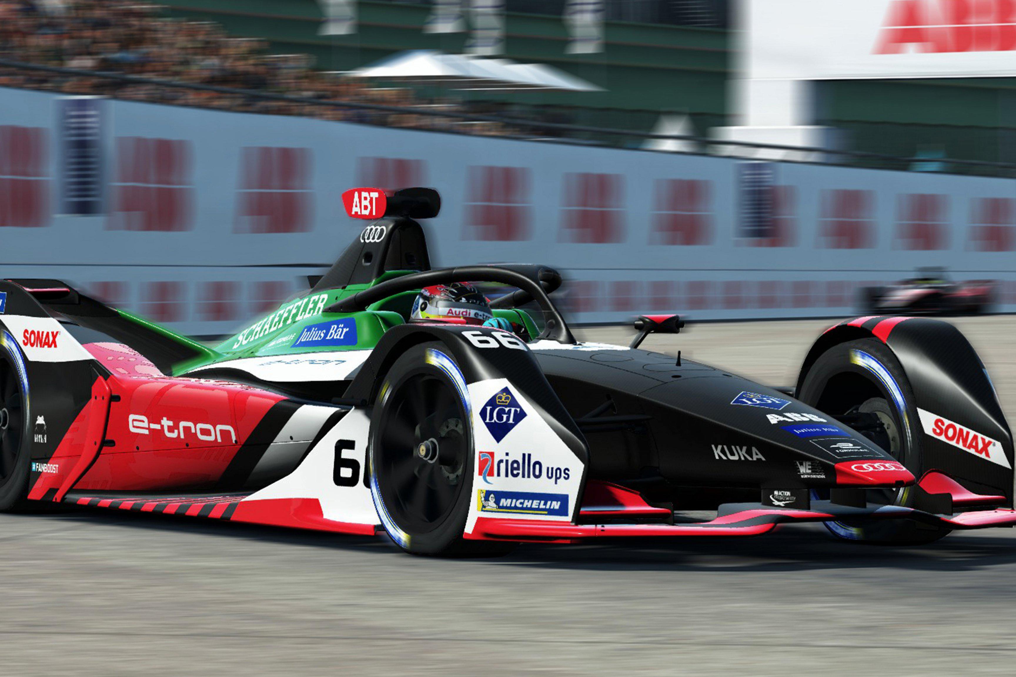 Audi Formula E Race at Home Challenge