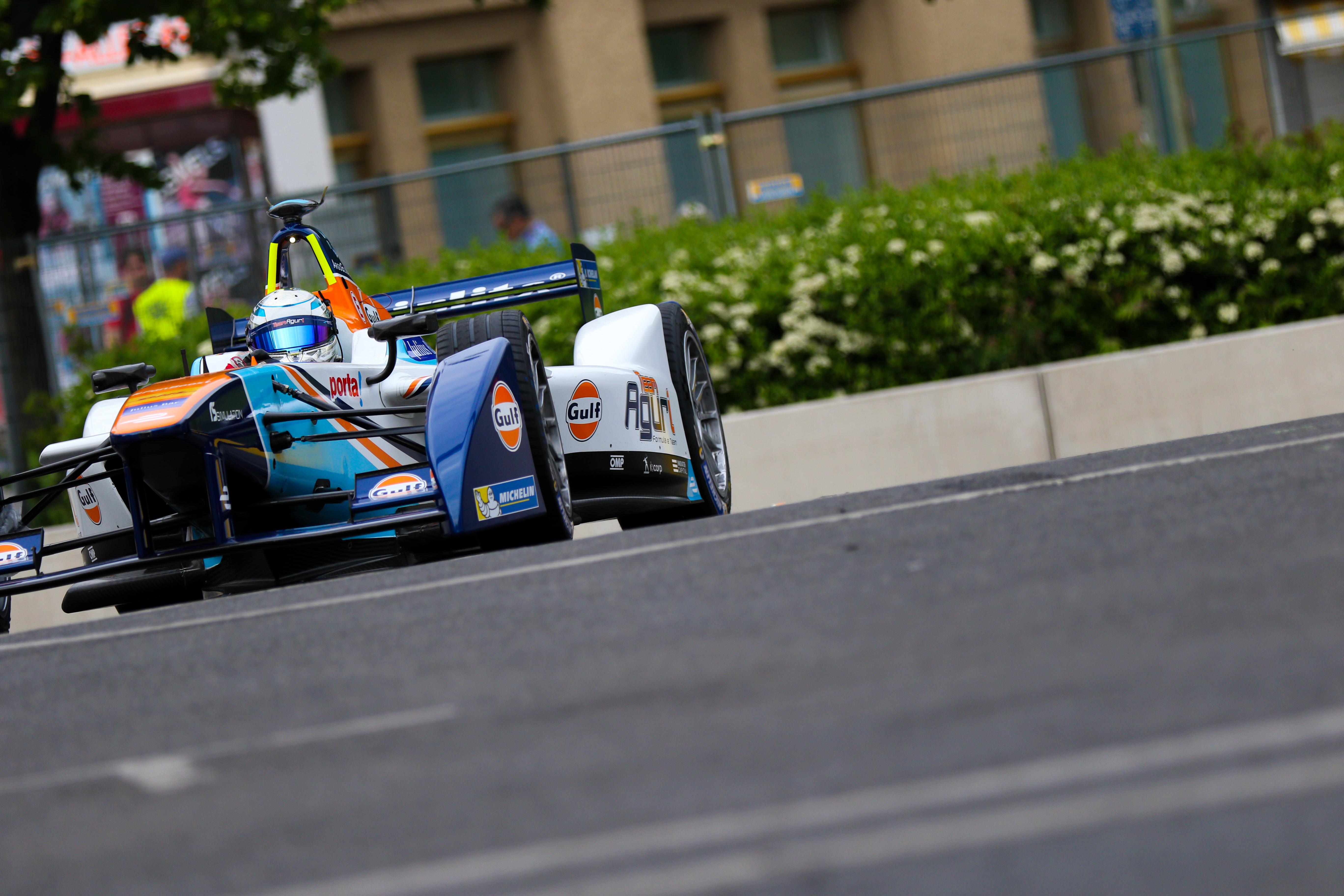 Rene Rast Aguri Formula E 2016