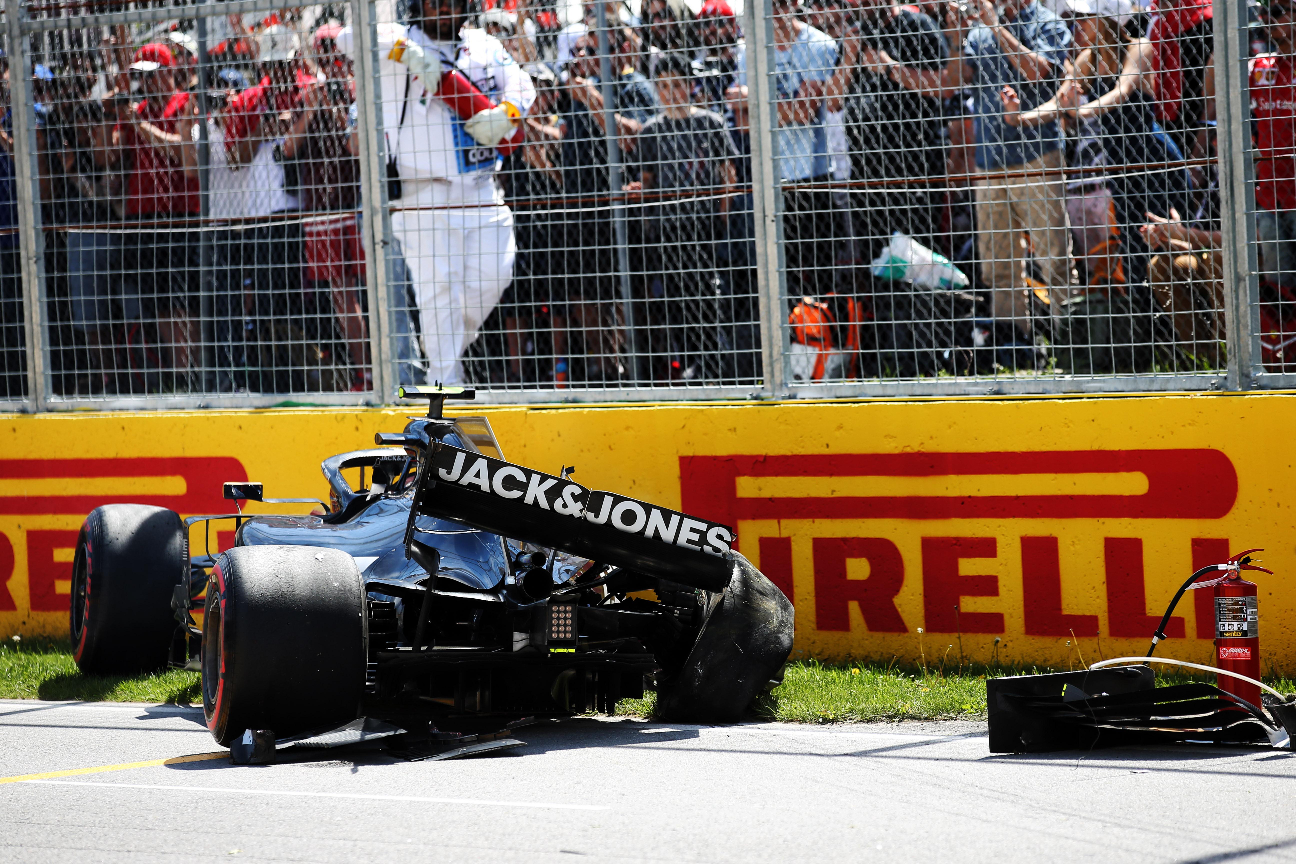 Motor Racing Formula One World Championship Canadian Grand Prix Qualifying Day Montreal, Canada