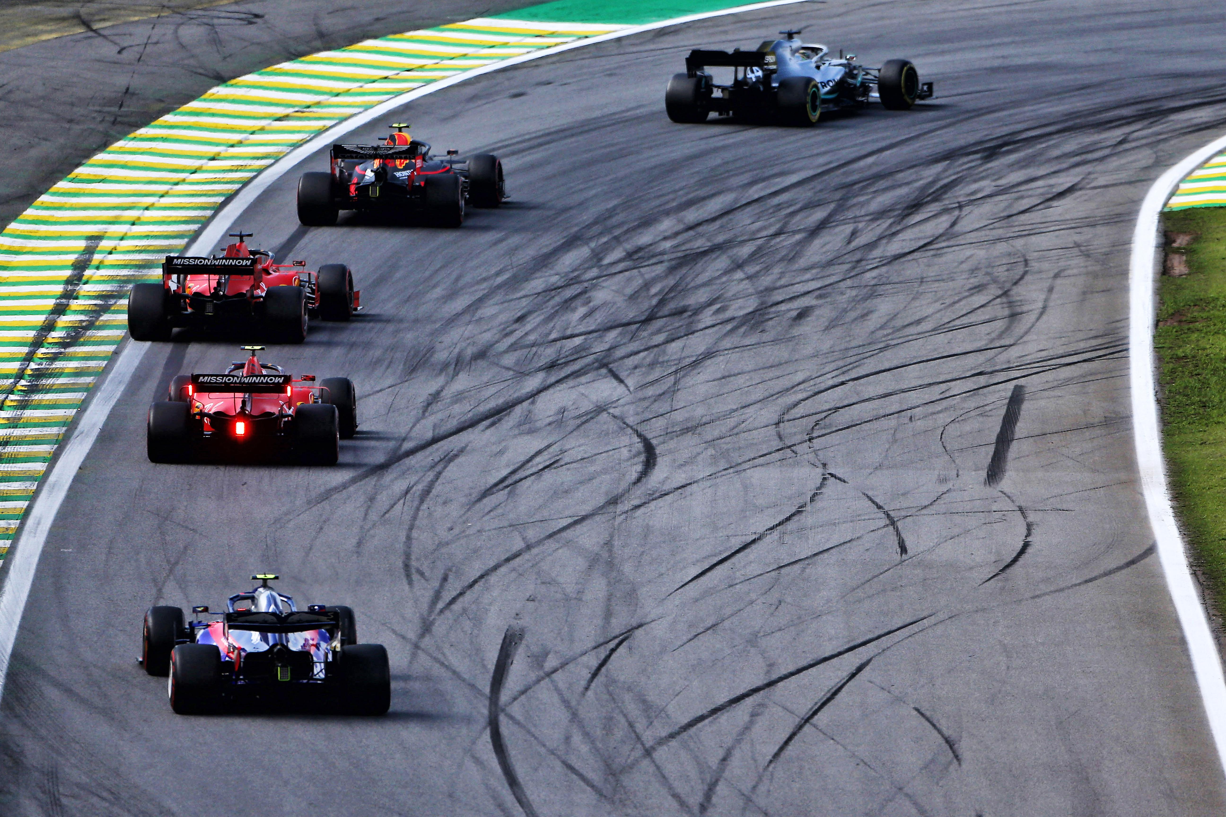 Mercedes Ferrari Red Bull Brazilian Grand Prix 2019