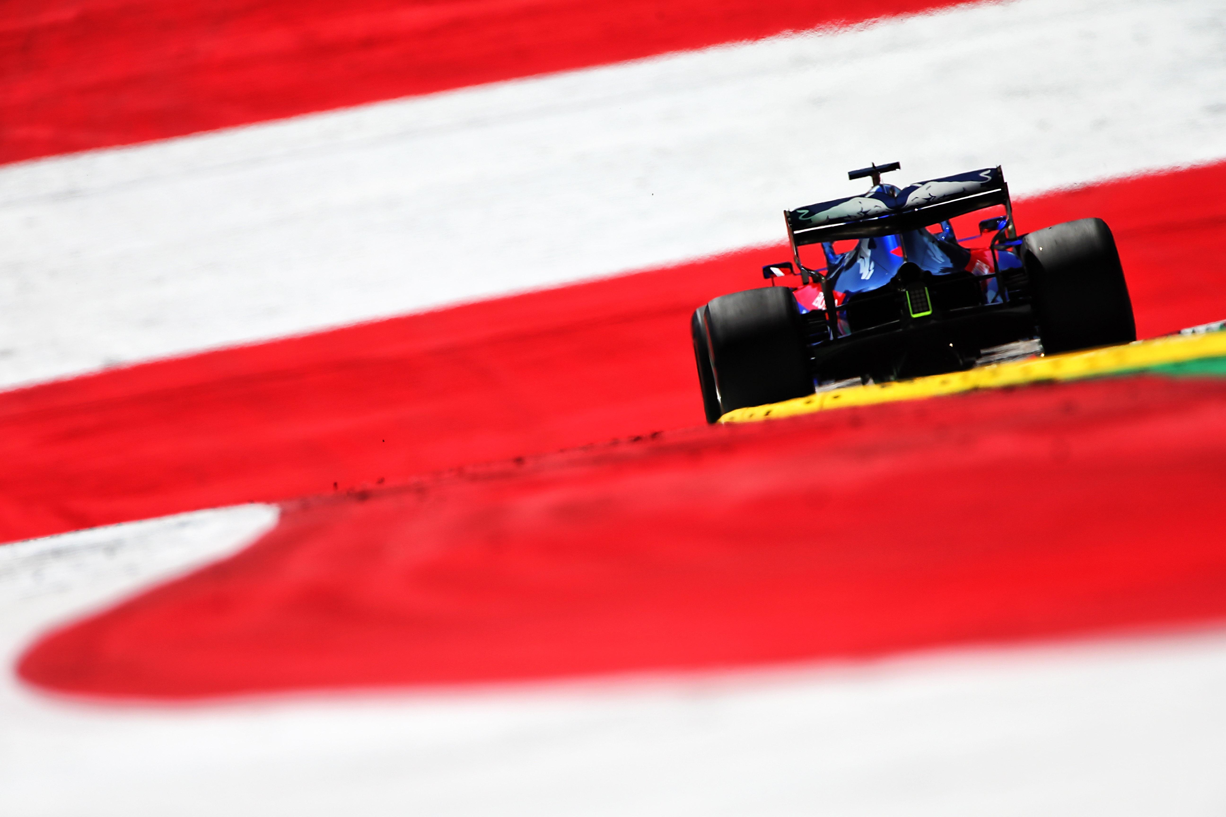 Daniil Kvyat Toro Rosso Austrian Grand Prix 2019