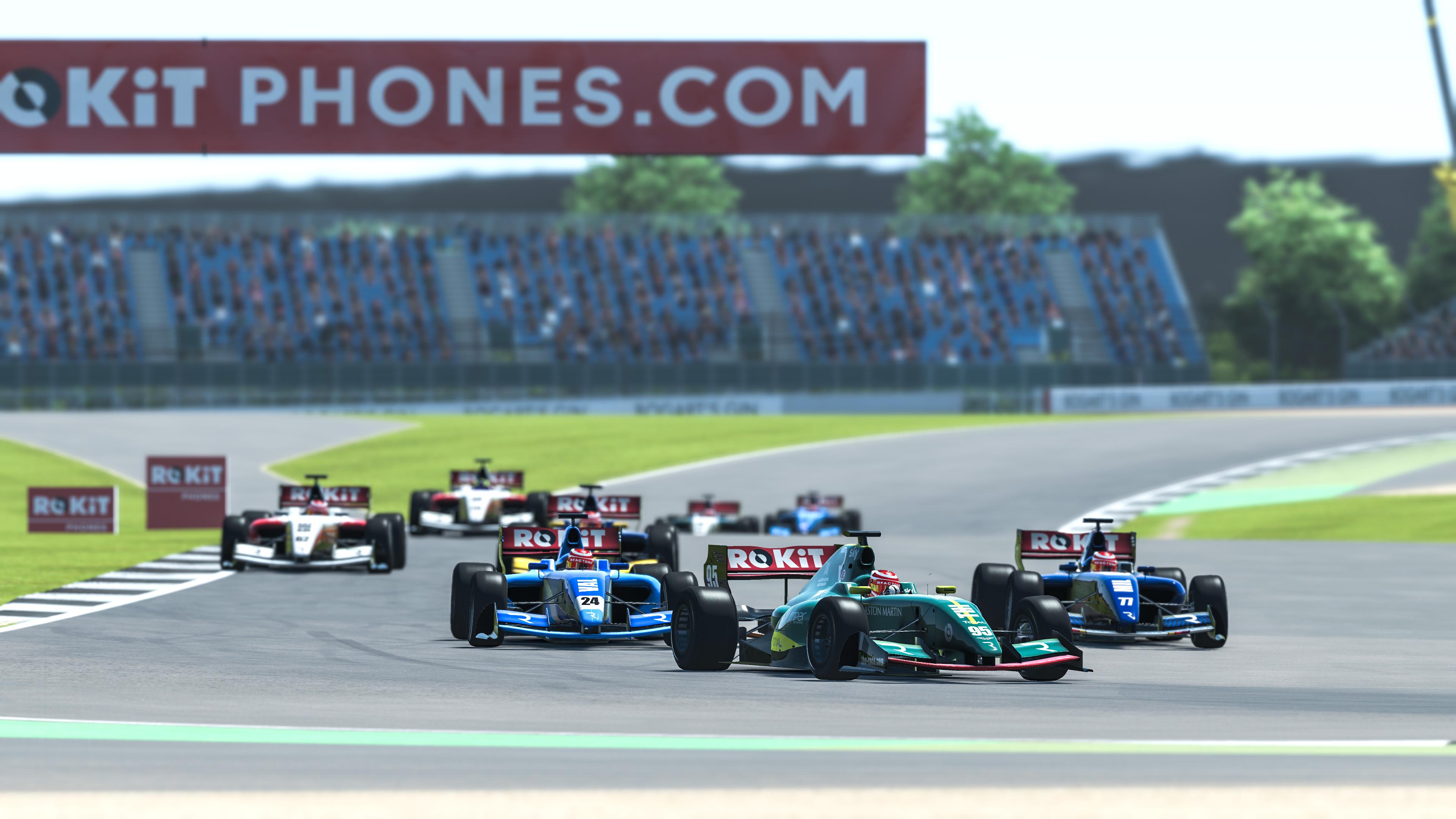 Nicki Thiim Aston Martin The Race All-Star Pro Cup