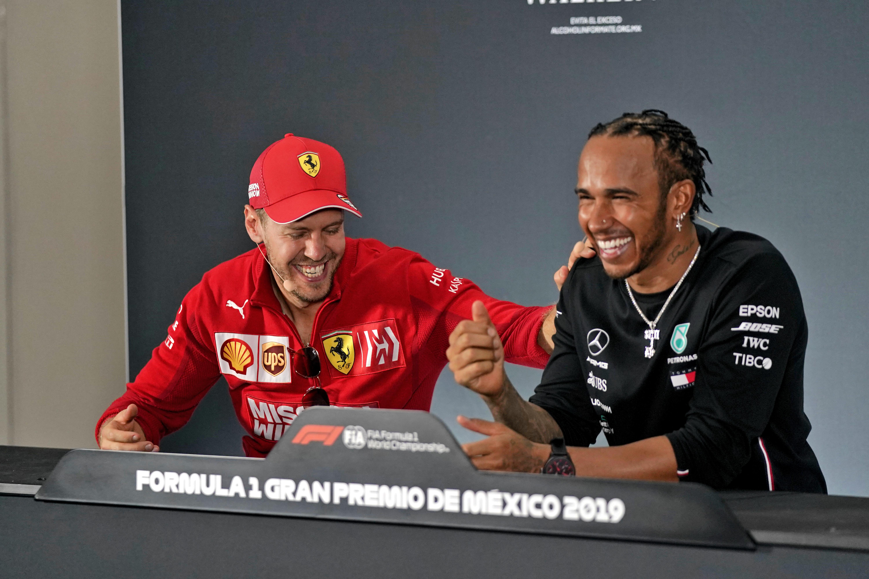 Sebastian Vettel Lewis Hamilton