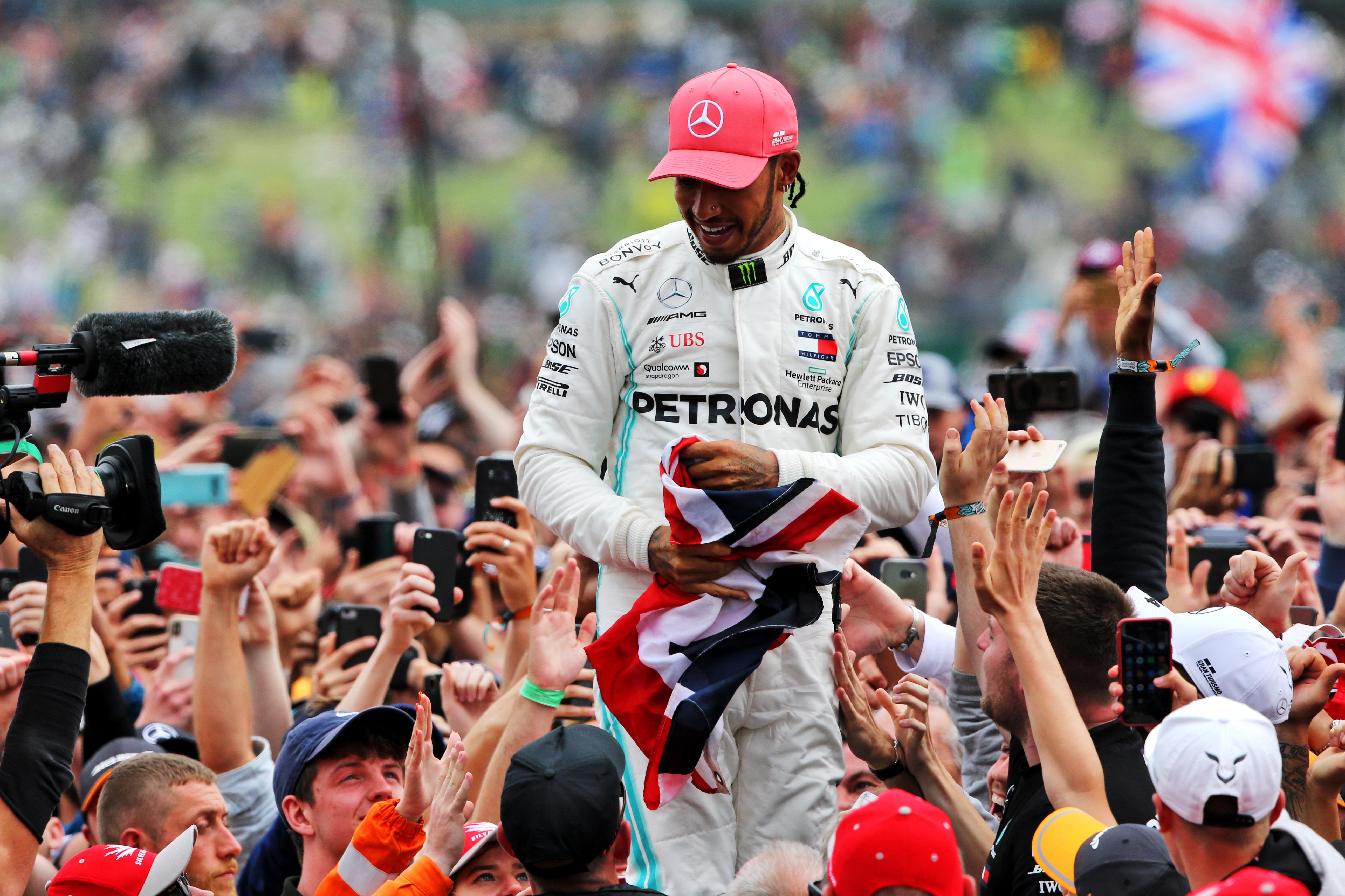 Lewis Hamilton Mercedes F1 2019