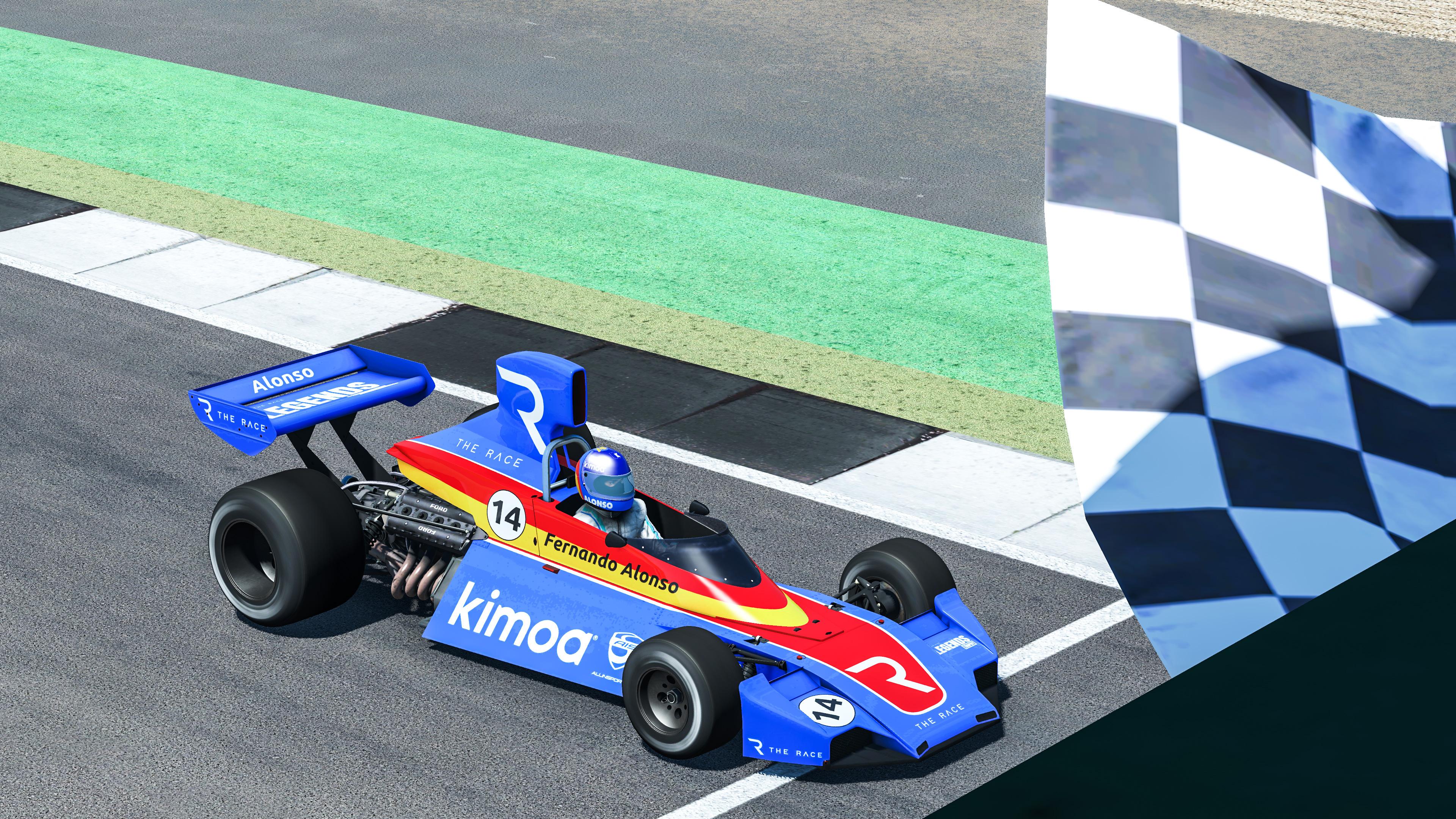 Fernando Alonso Legends Trophy 2020