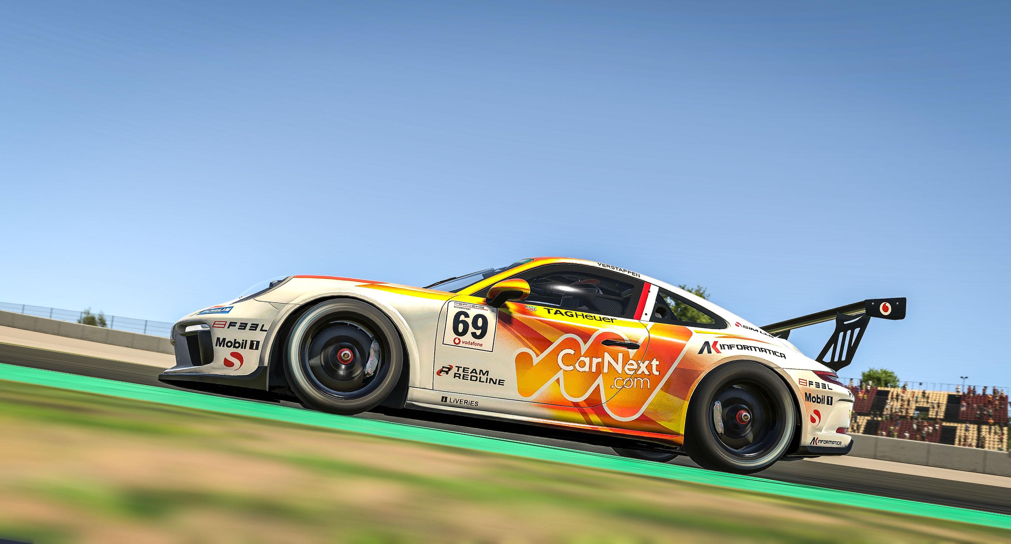 Porsche Verstappen