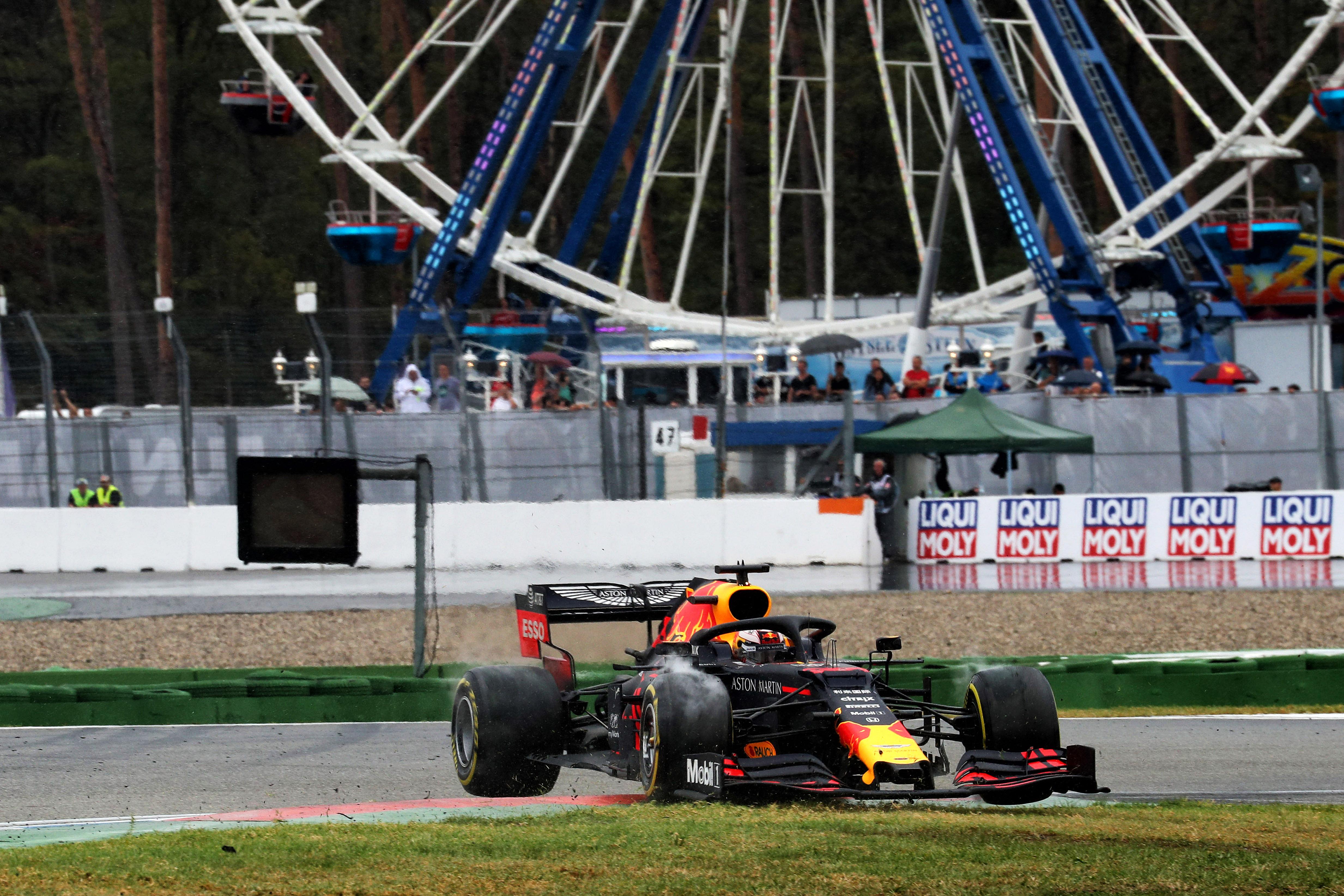 Hockenheim F1 Chase Carey Max Verstappen 2020