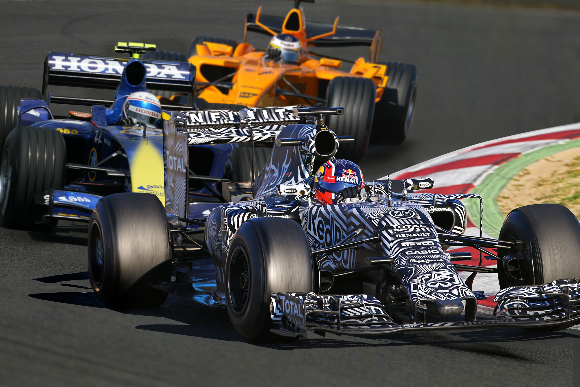 Unraced Liveries F1 2020