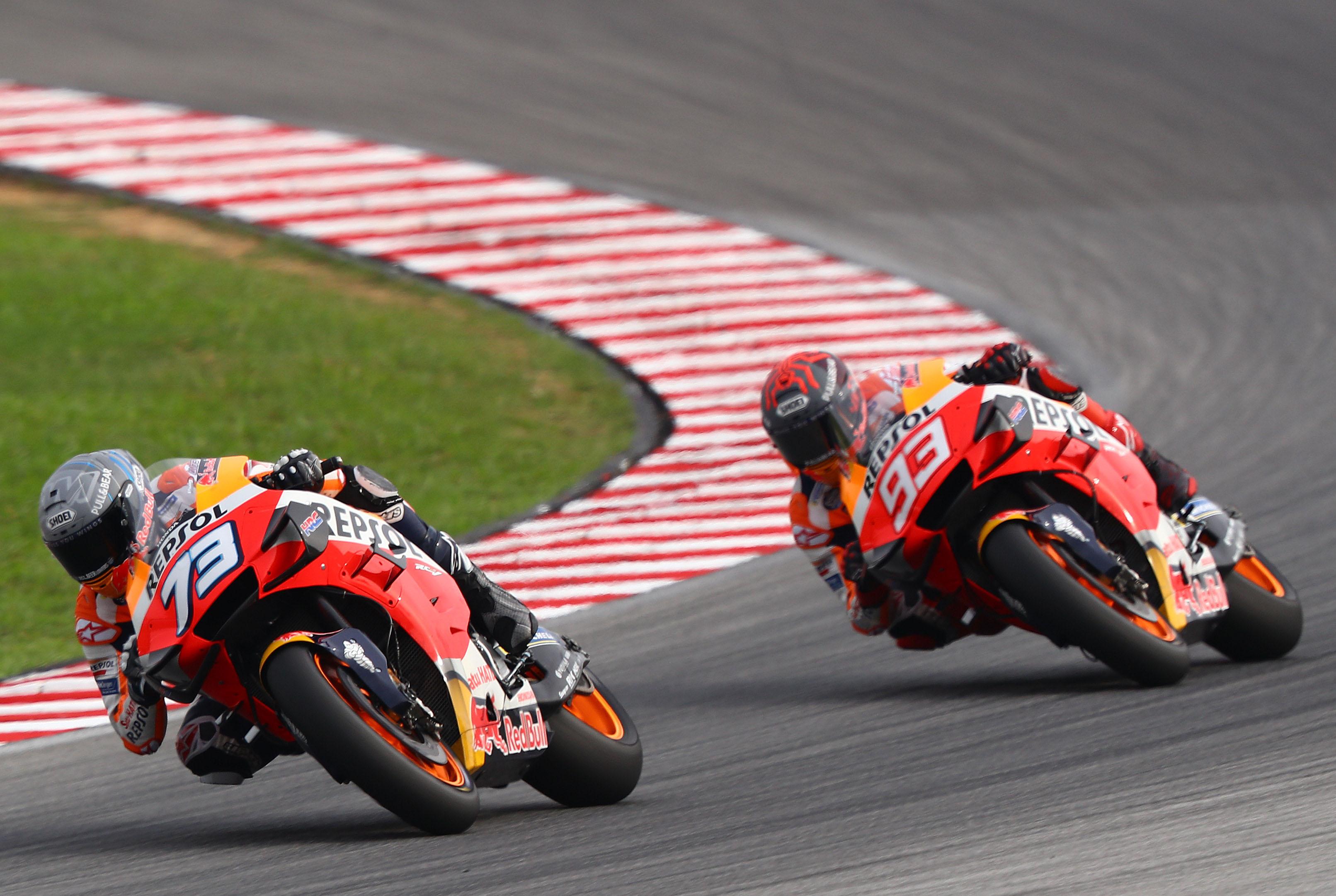 Alex Marquez and Marc Marquez, Repsol Honda