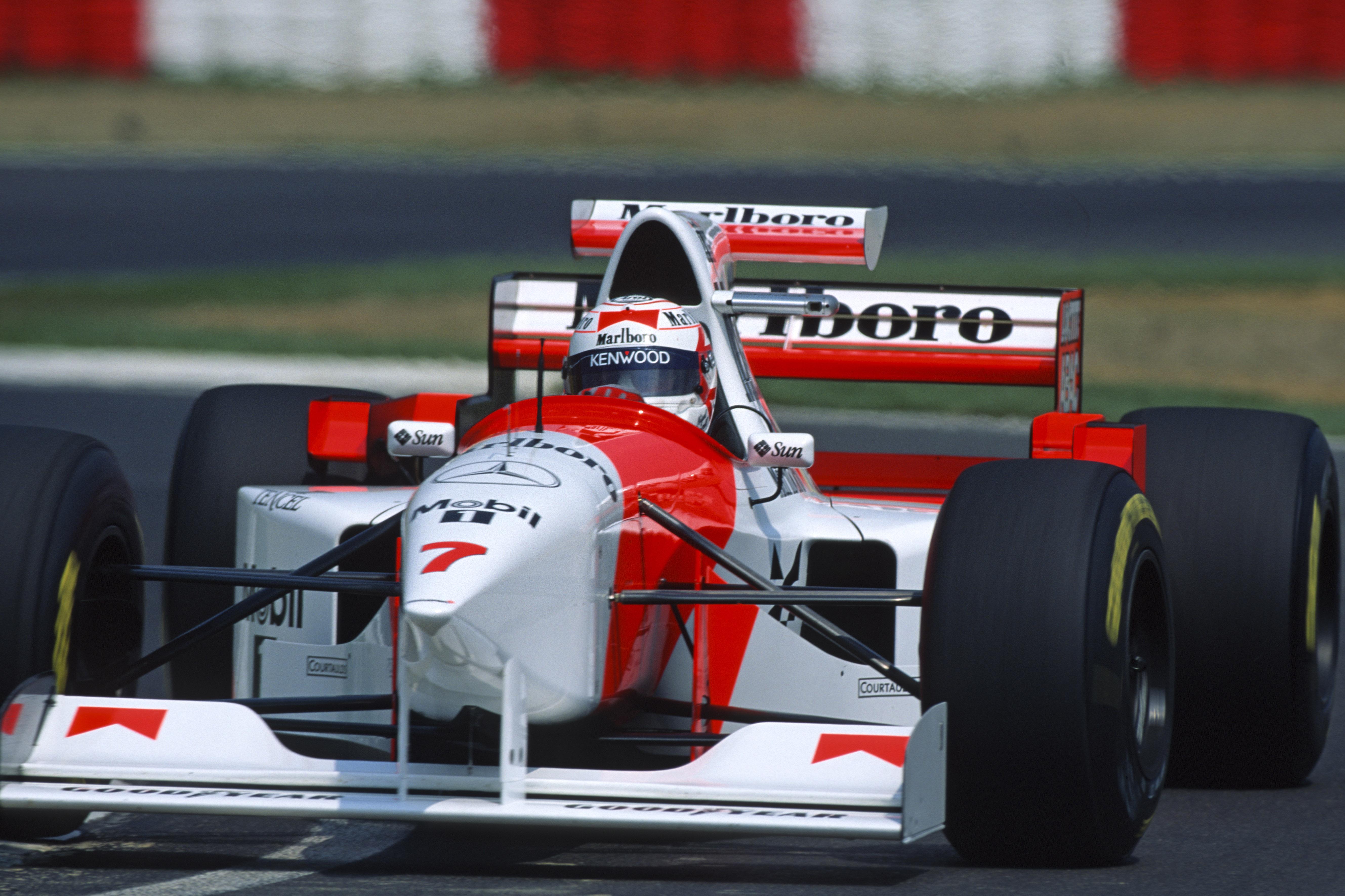 Nigel Mansell McLaren 1995
