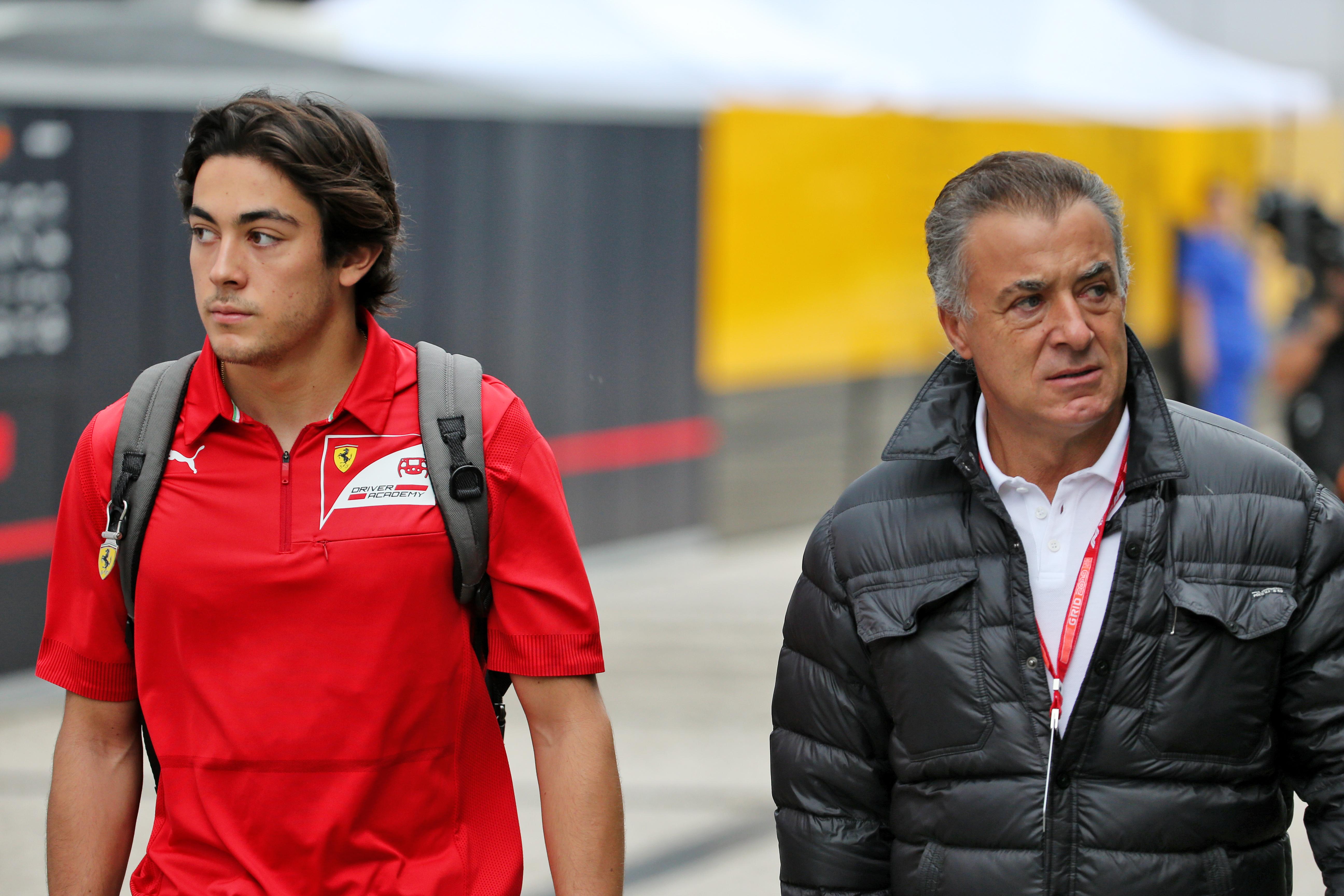 Jean Alesi Giuliano Alesi F1 Ferrari F2 2020