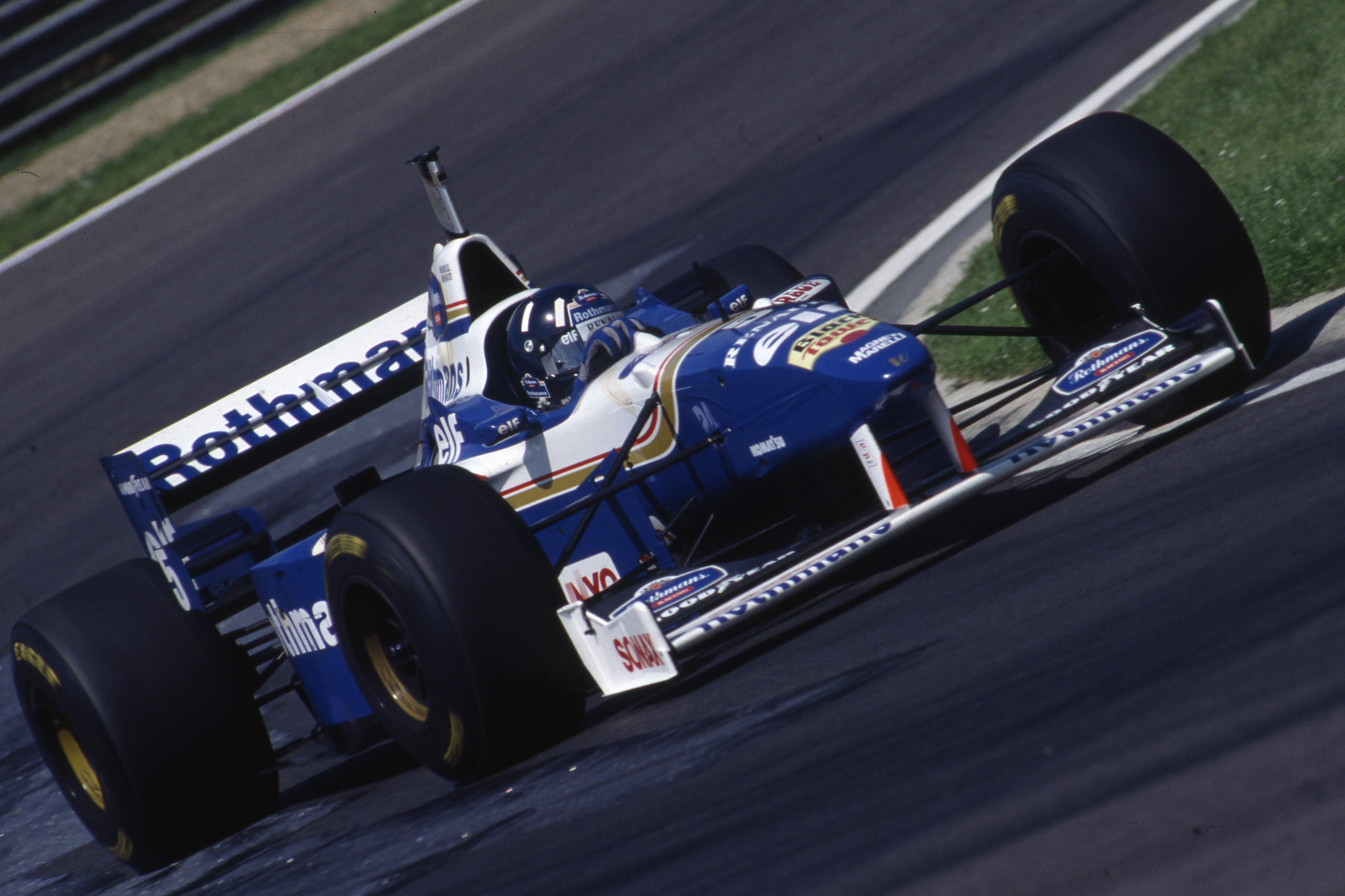 Damon Hill Williams San Marino Grand Prix 1996 Imola