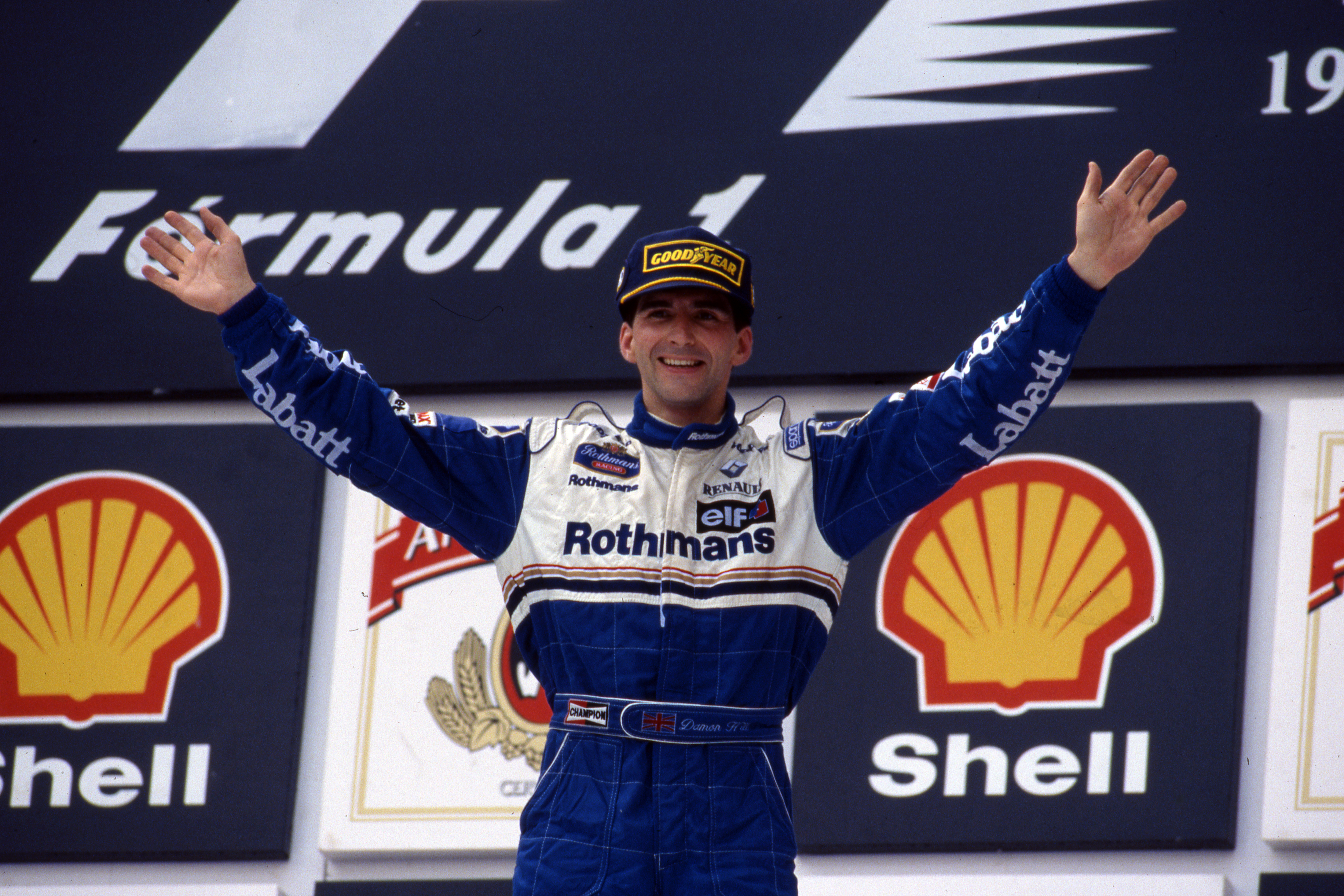 Damon Hill wins Brazilian Grand Prix 1996