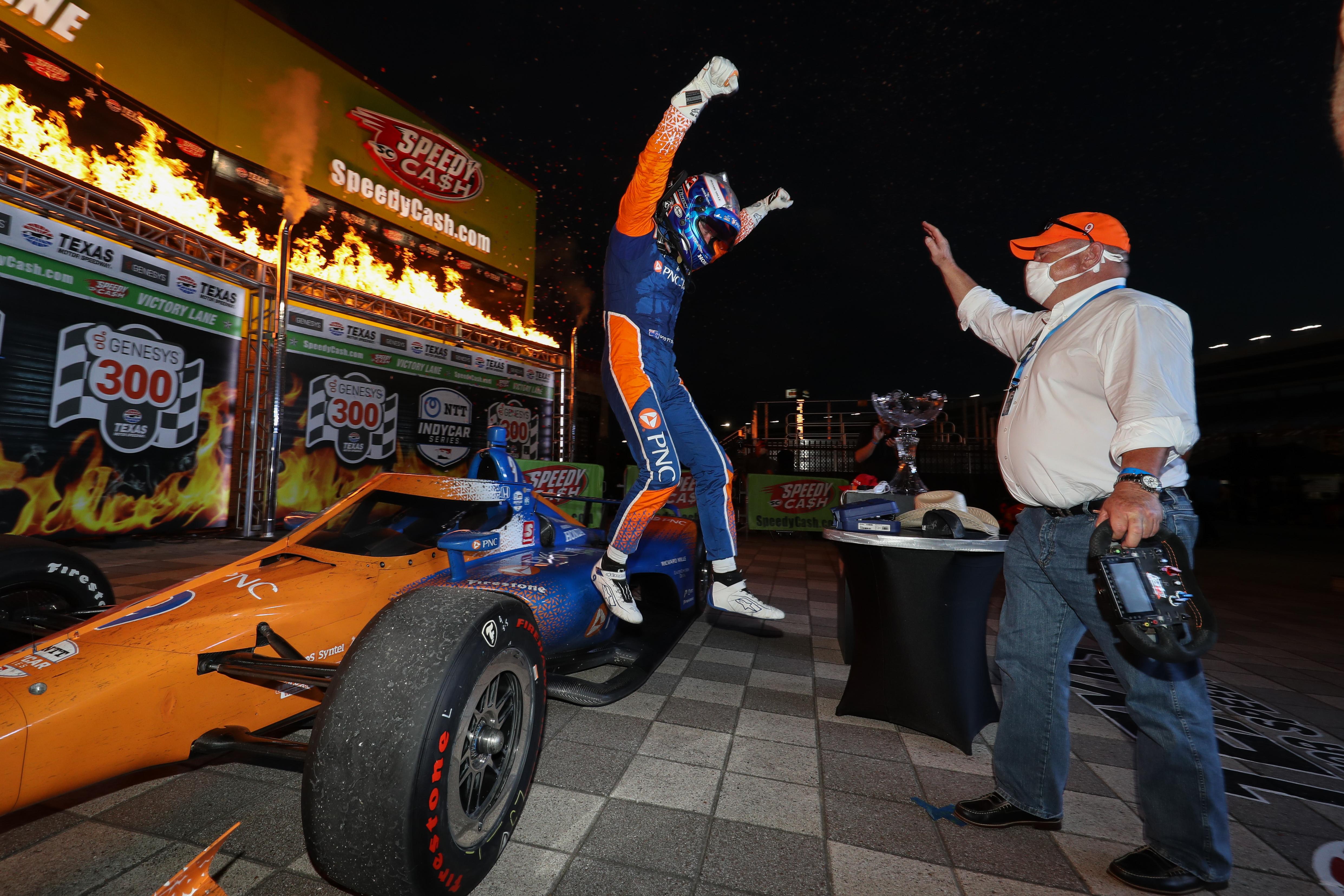 Scott Dixon wins Texas IndyCar 2020