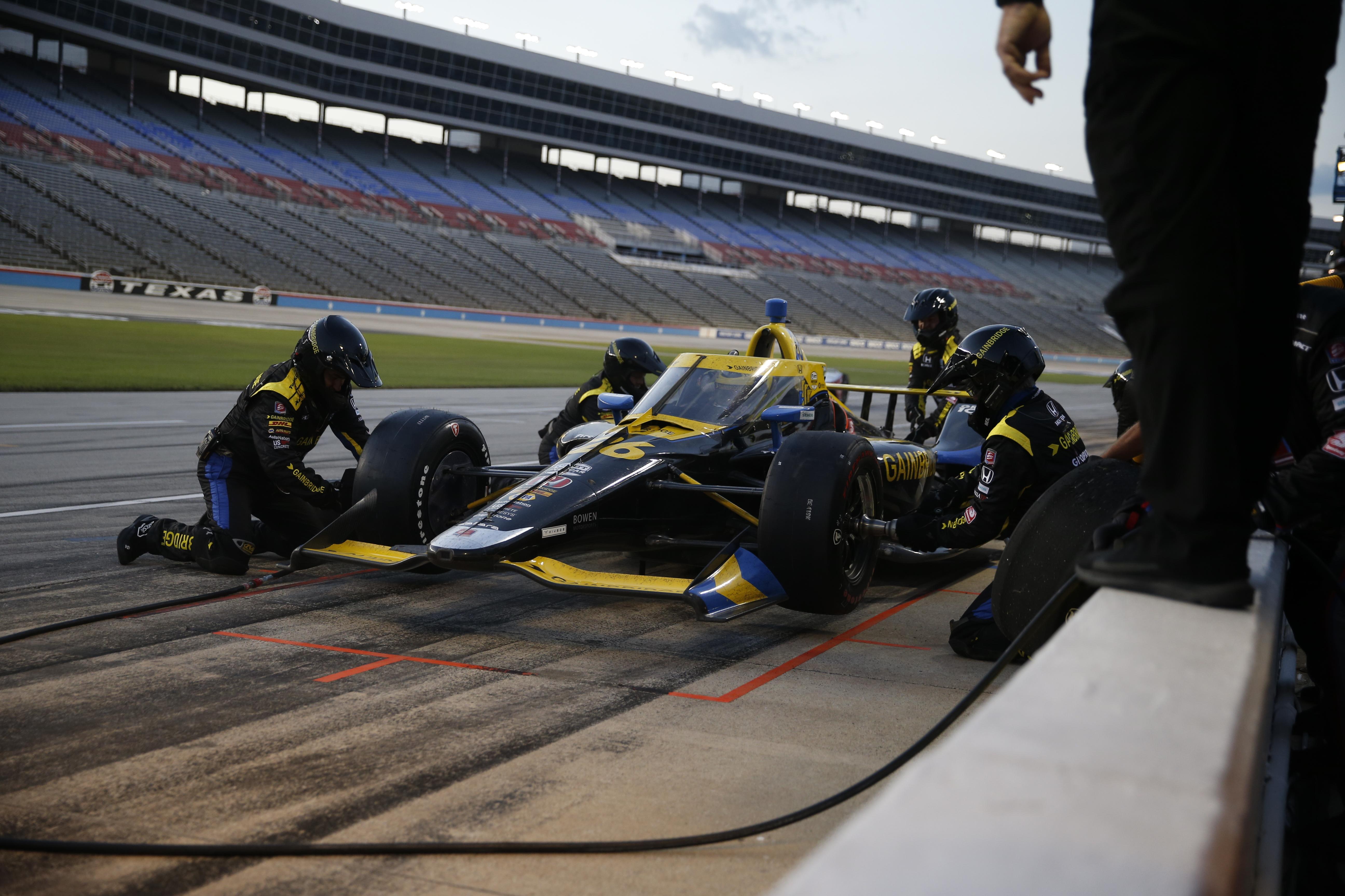 Zach Veach Texas IndyCar 2020