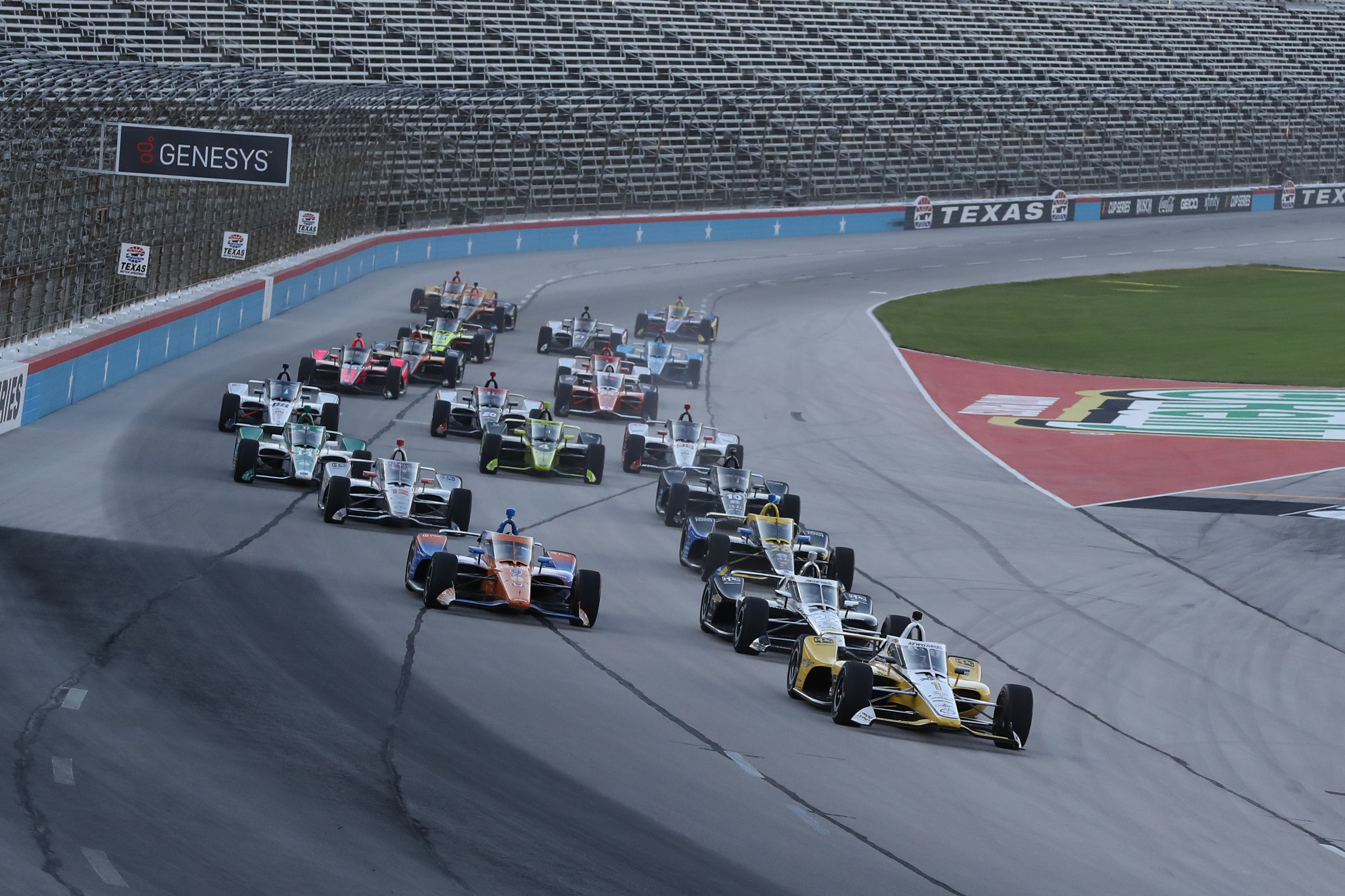 IndyCar Texas aeroscreen 2020