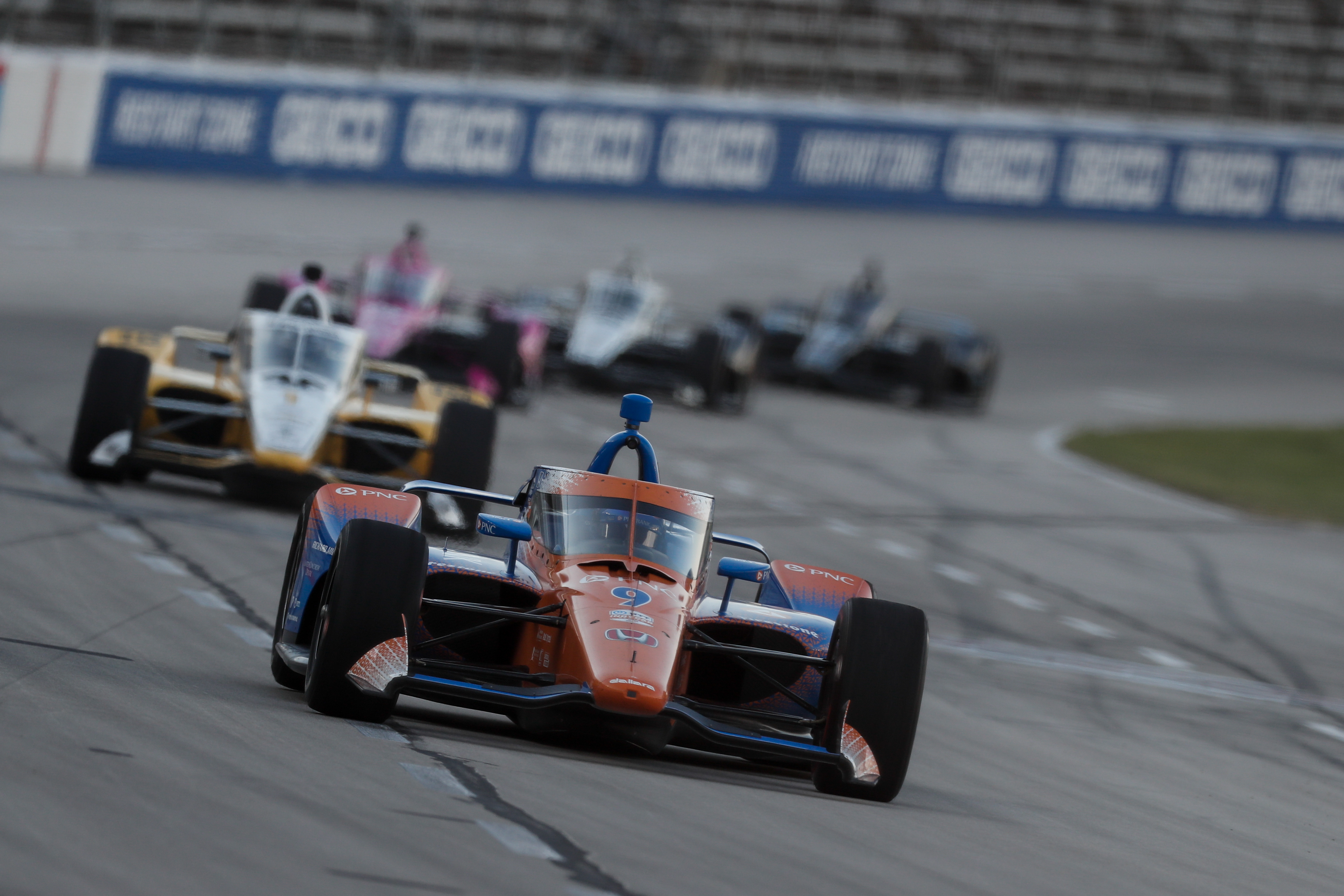 Scott Dixon IndyCar Texas aeroscreen 2020