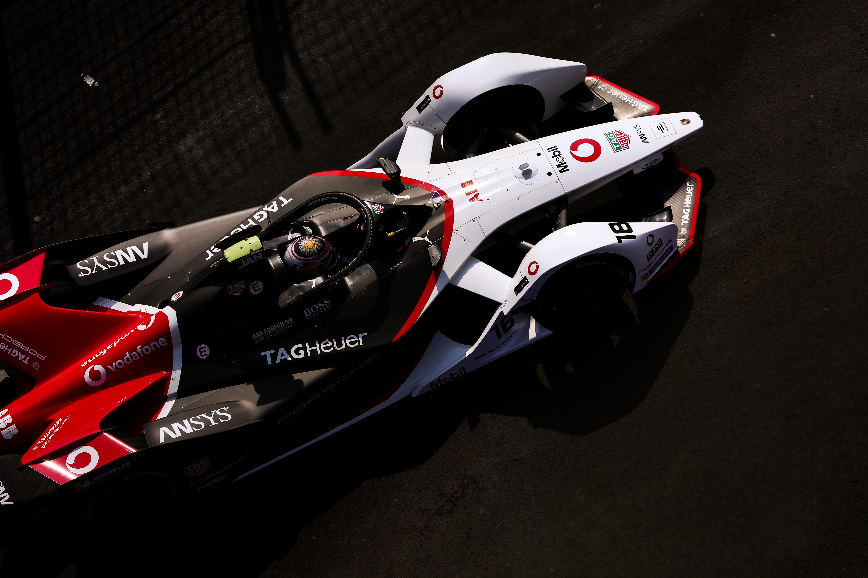 Neel Jani Porsche Mexico City Formula E 2020