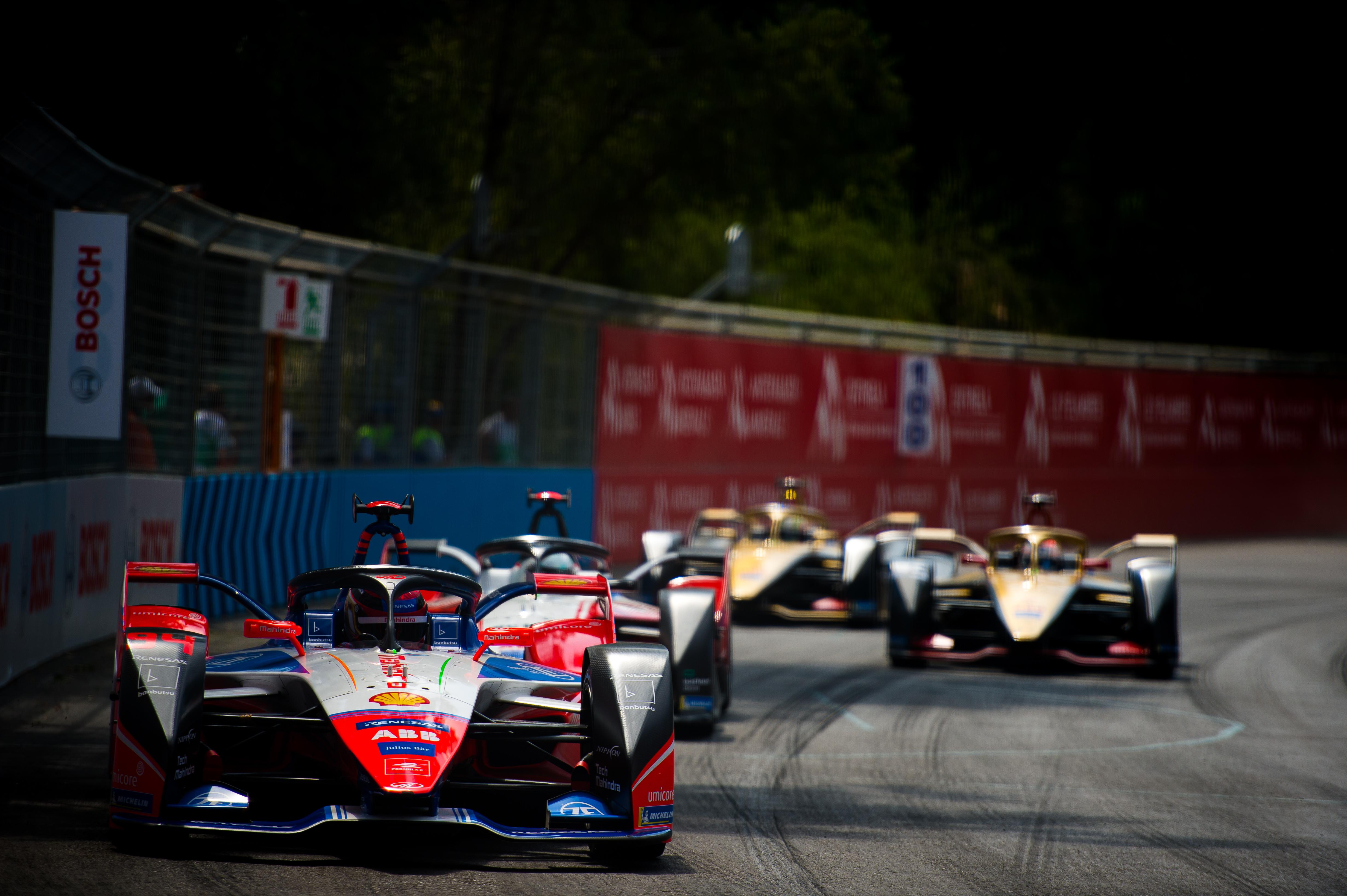 Pascal Wehrlein Mahindra Santiago Formula E 2020