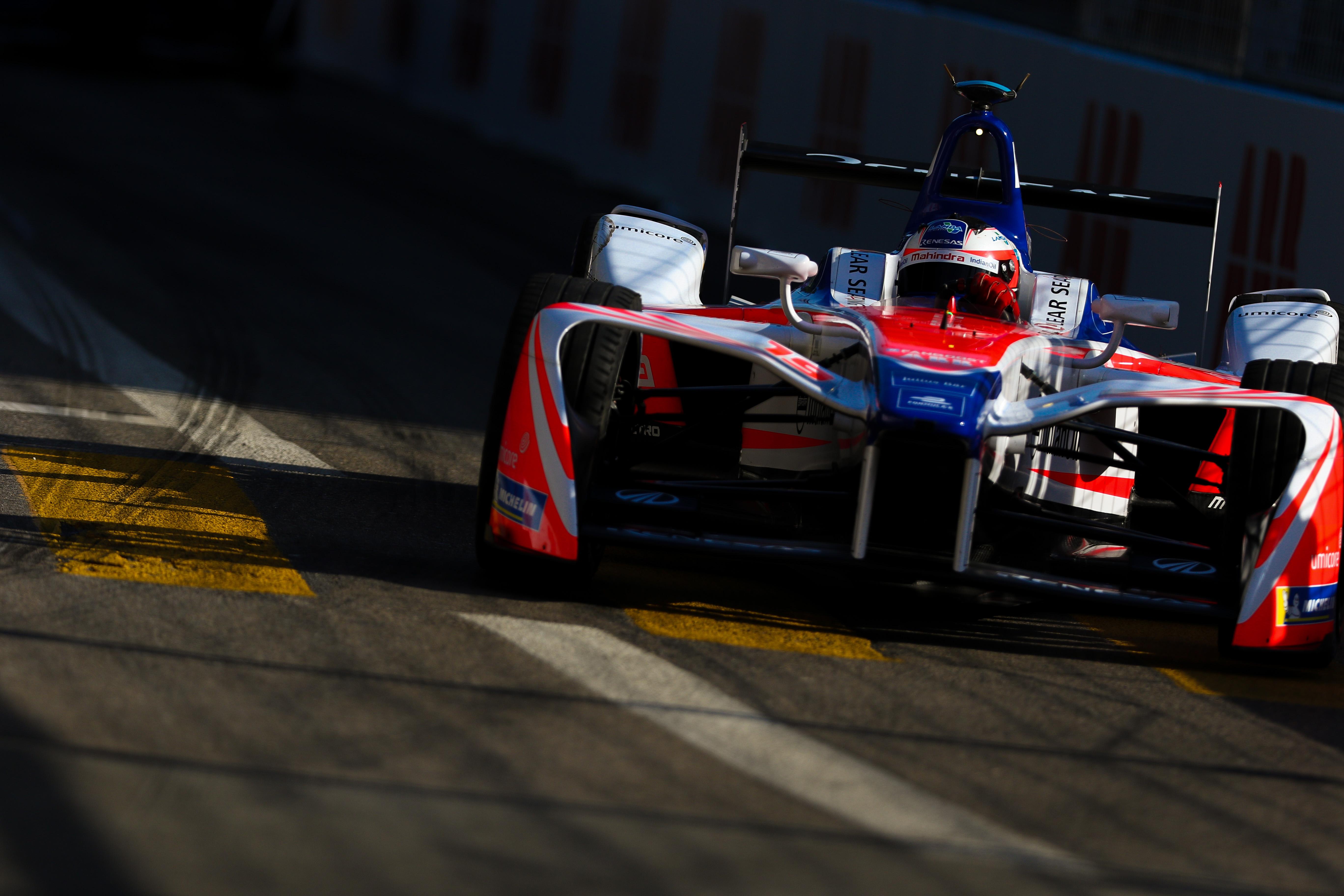 Felix Rosenqvist Mahindra Zurich Formula E 2018