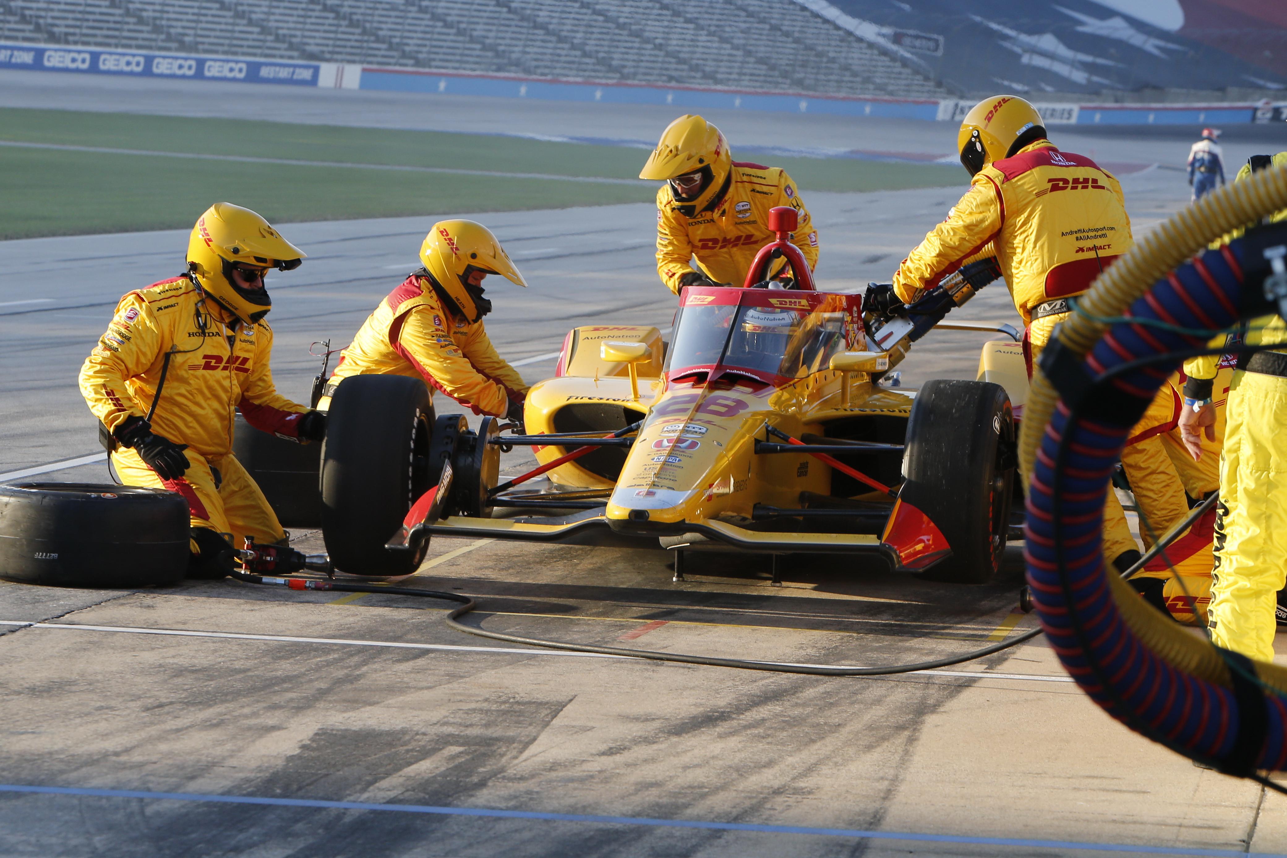 Ryan Hunter-Reay Andretti Texas IndyCar 2020