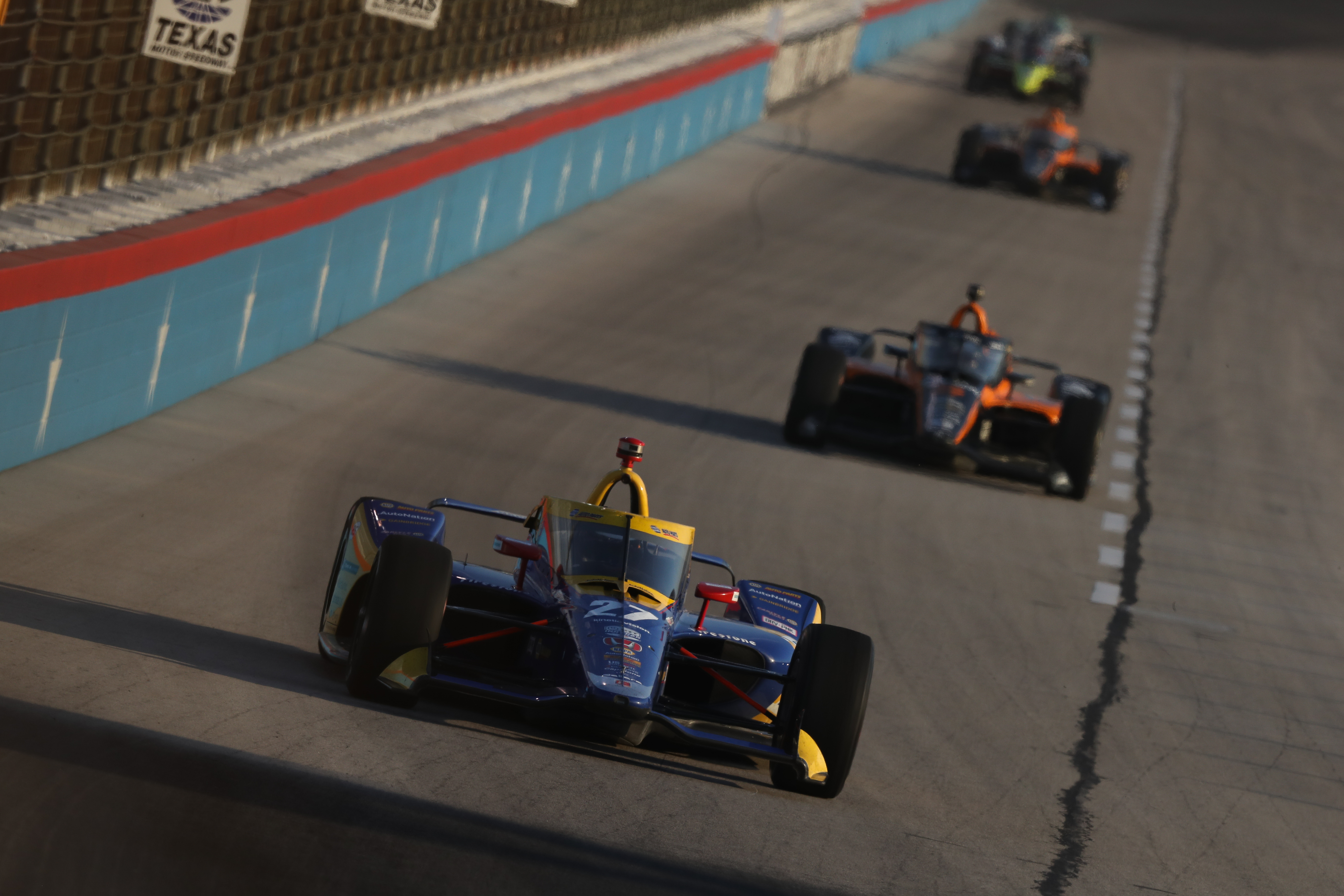 Alexander Rossi Texas IndyCar 2020