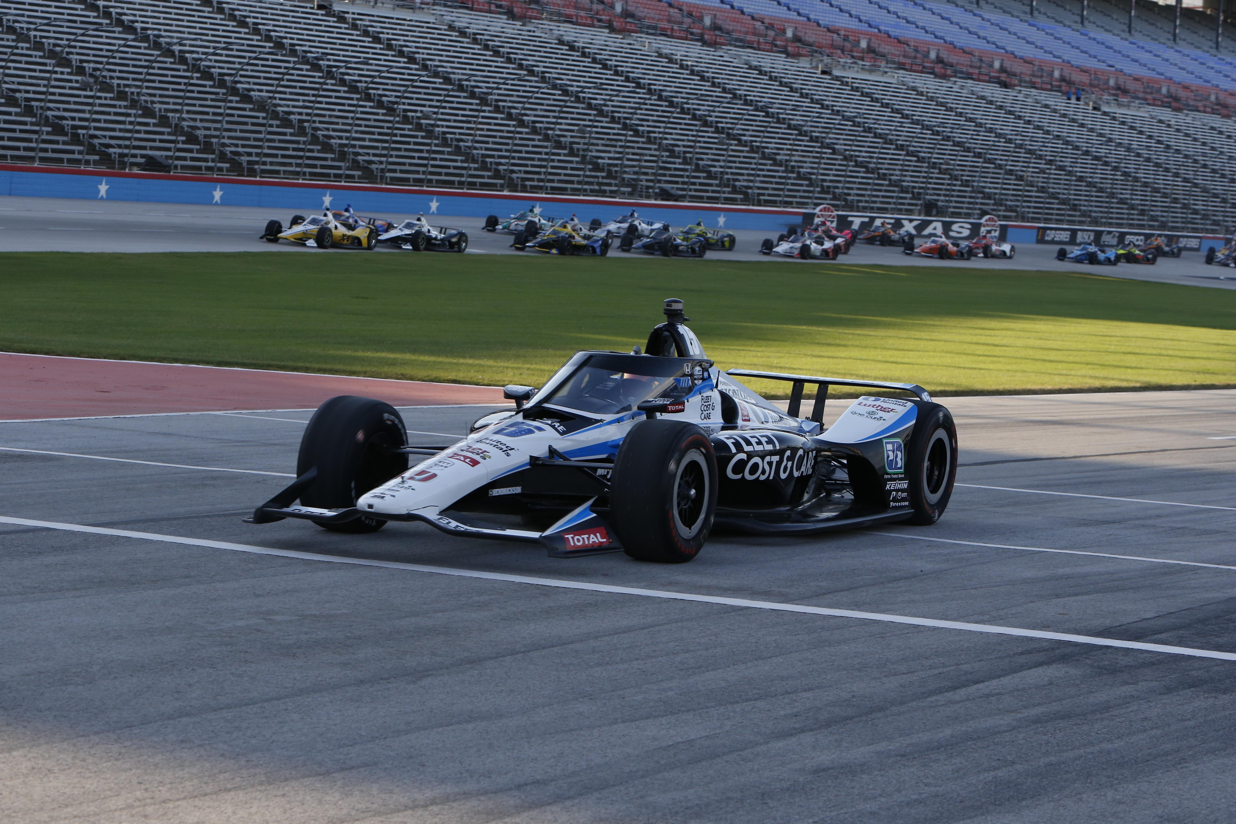 Graham Rahal Texas IndyCar 2020