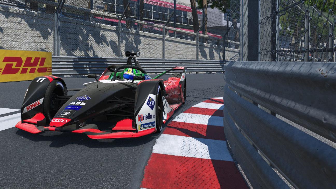 Audi Formula E Race at Home