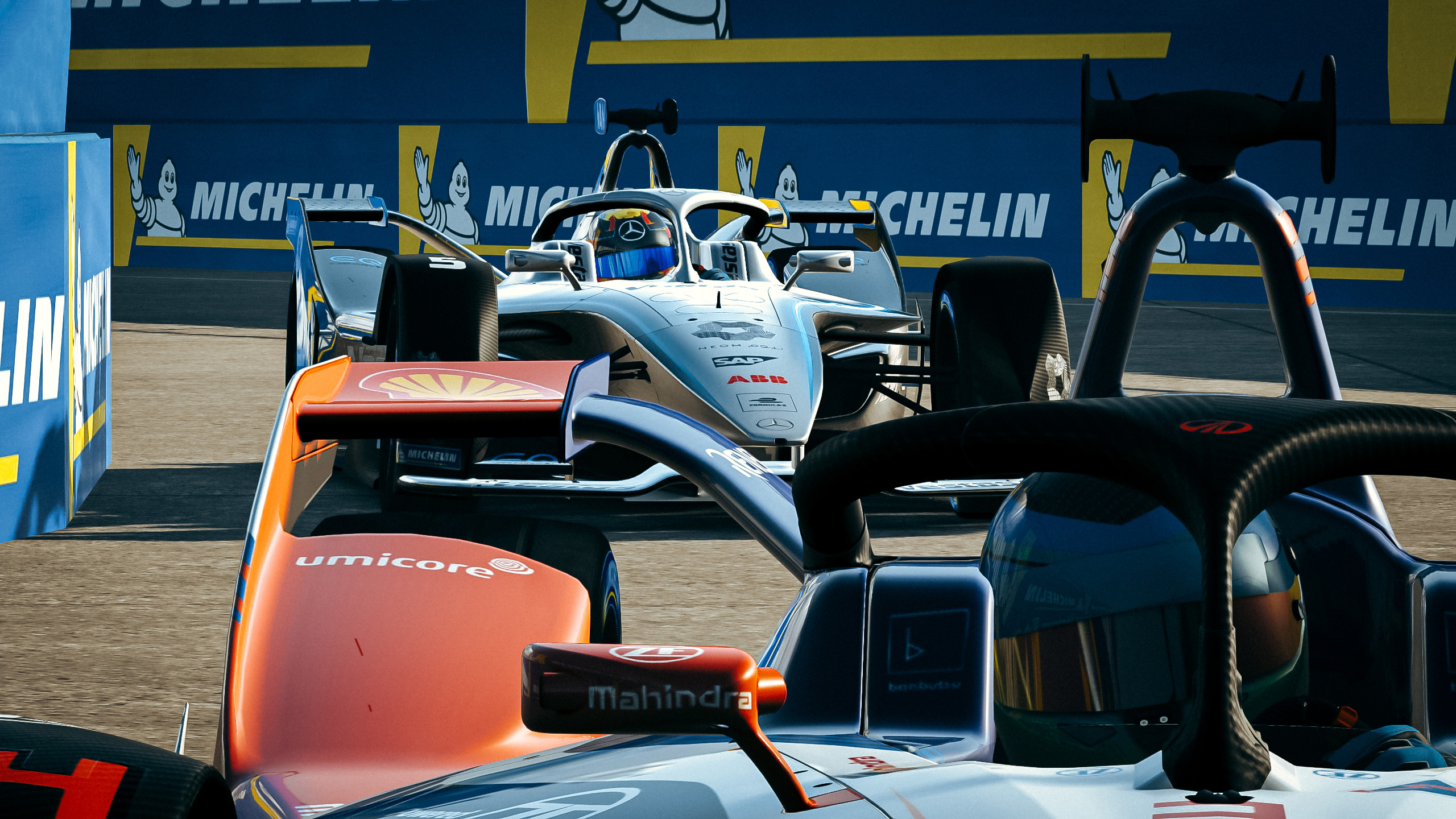 Formula E Race at Home