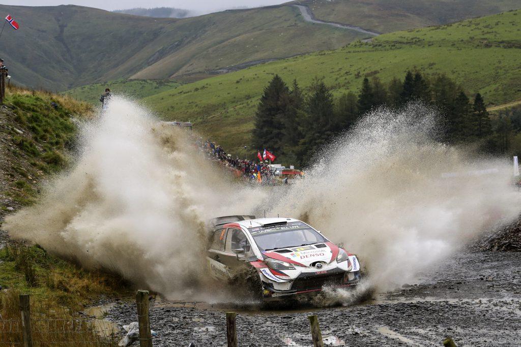 Fia World Rally Championship Wales Rally Great Britain
