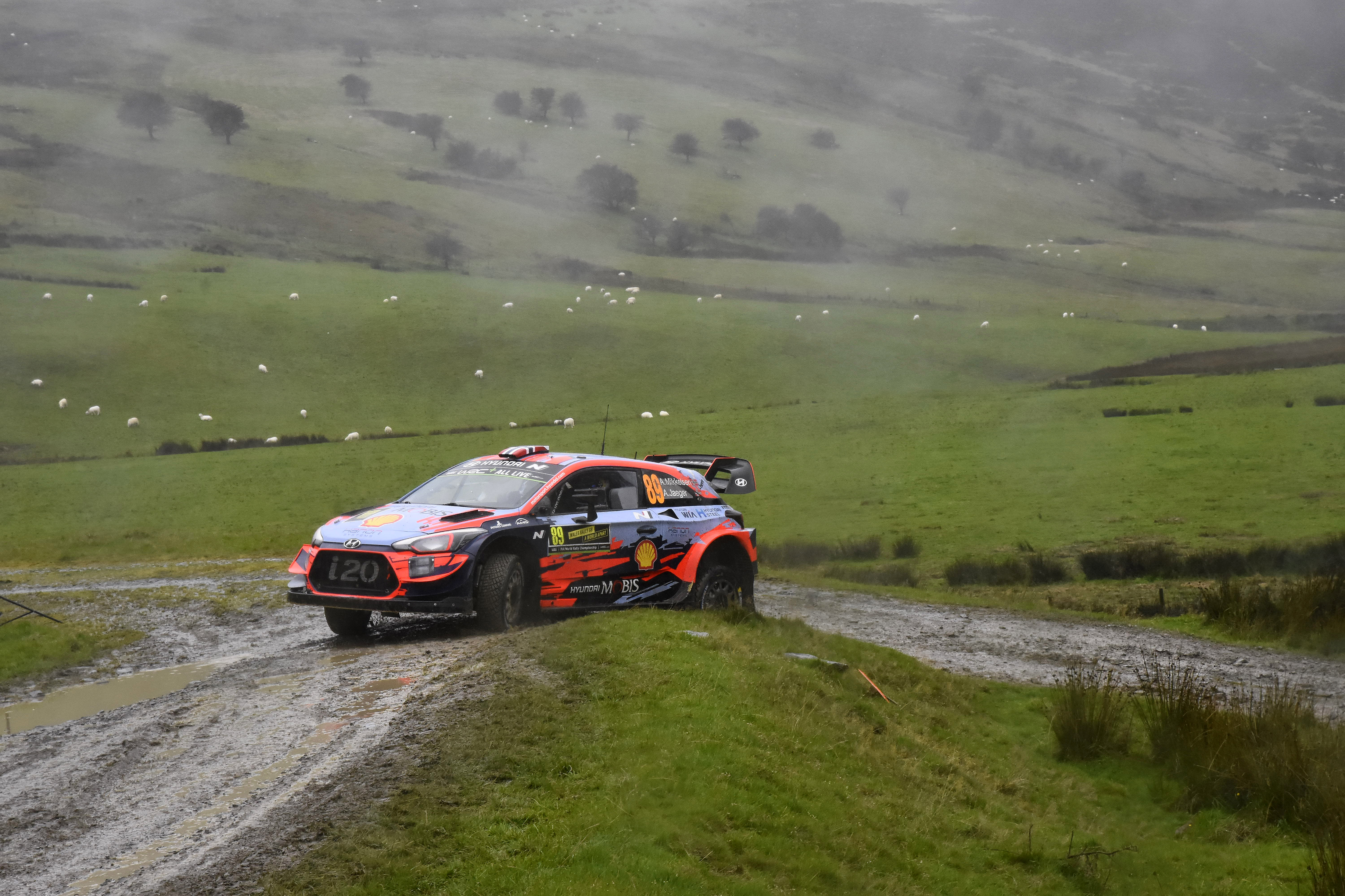 Fia World Rally Championship Wales Rally Great Britain