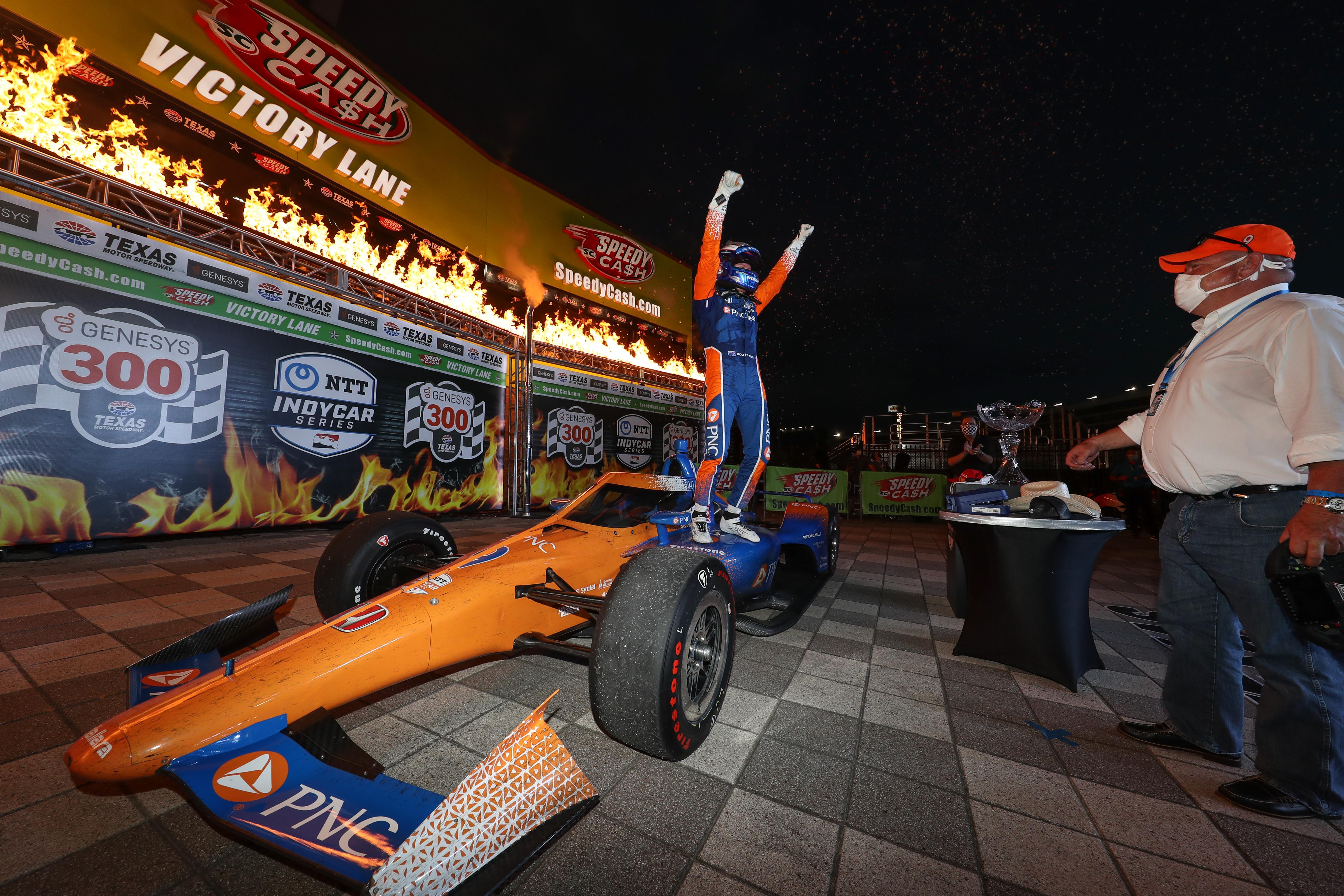 16co0935 1Scott Dixon Ganassi IndyCar Texas 2020