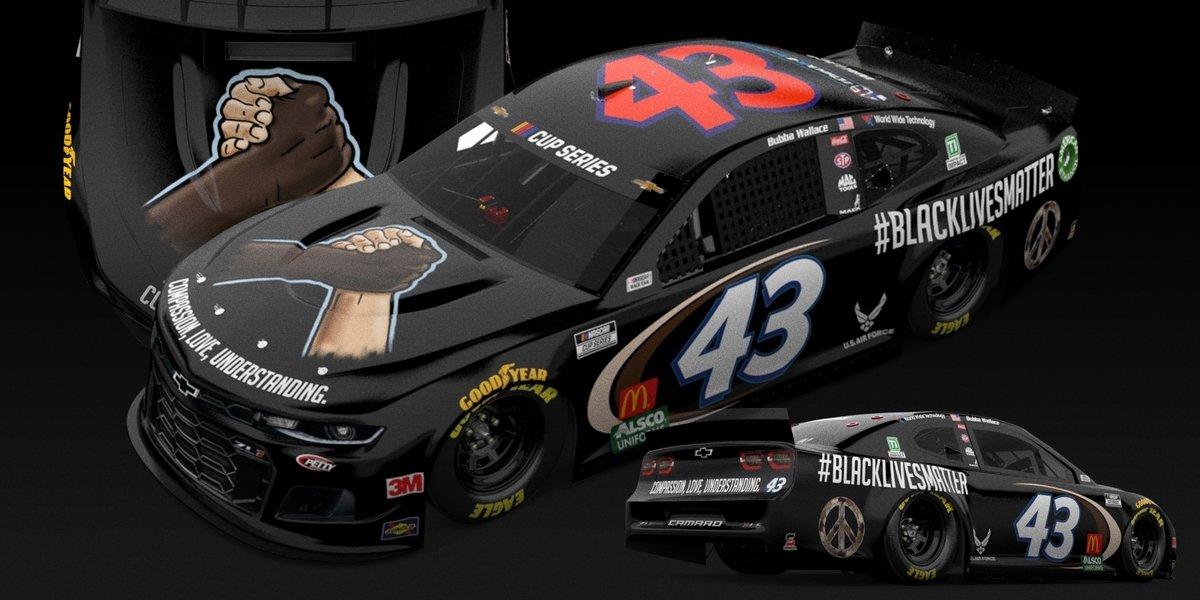 Bubba Wallace Black Lives Matter NASCAR Martinsville 2020