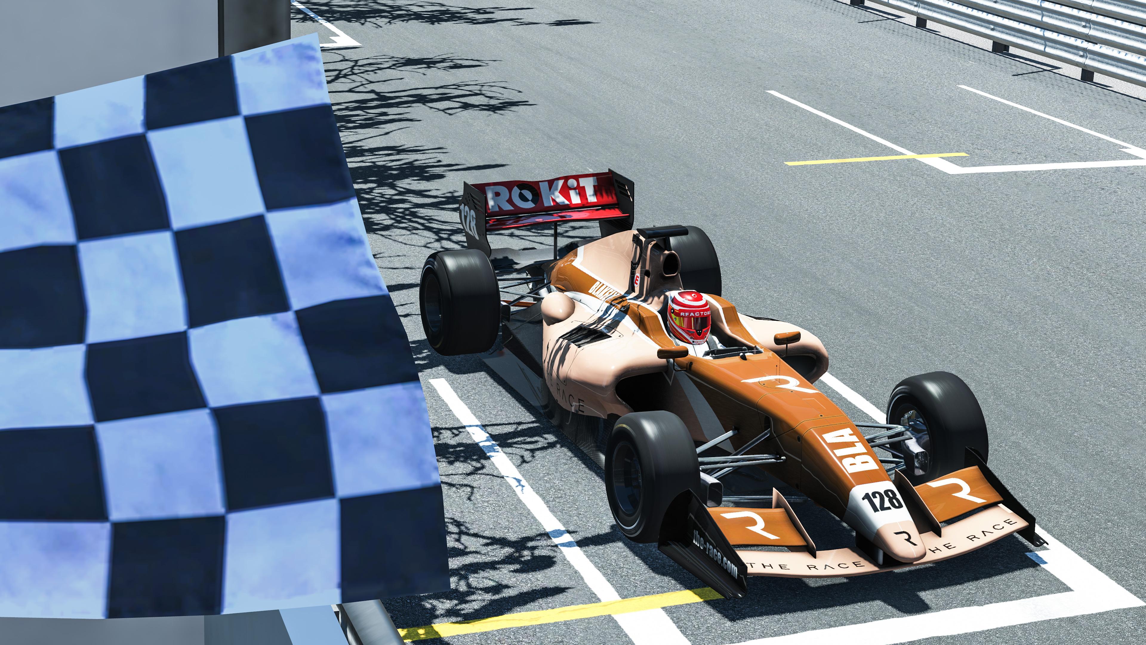 Lucas Blakeley The Race All-Star Monaco