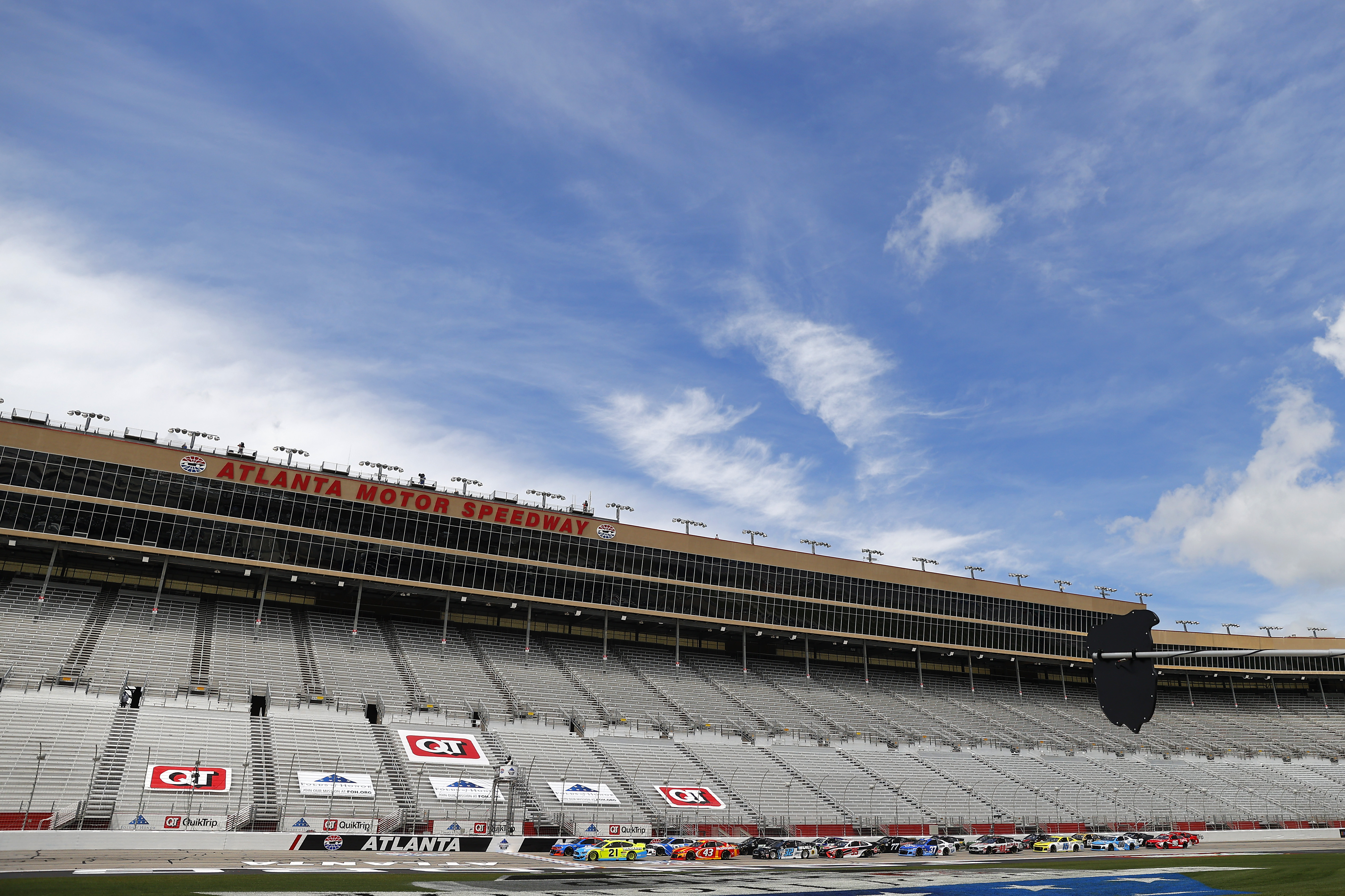 Nascar Cup Series Folds Of Honor Quiktrip 500