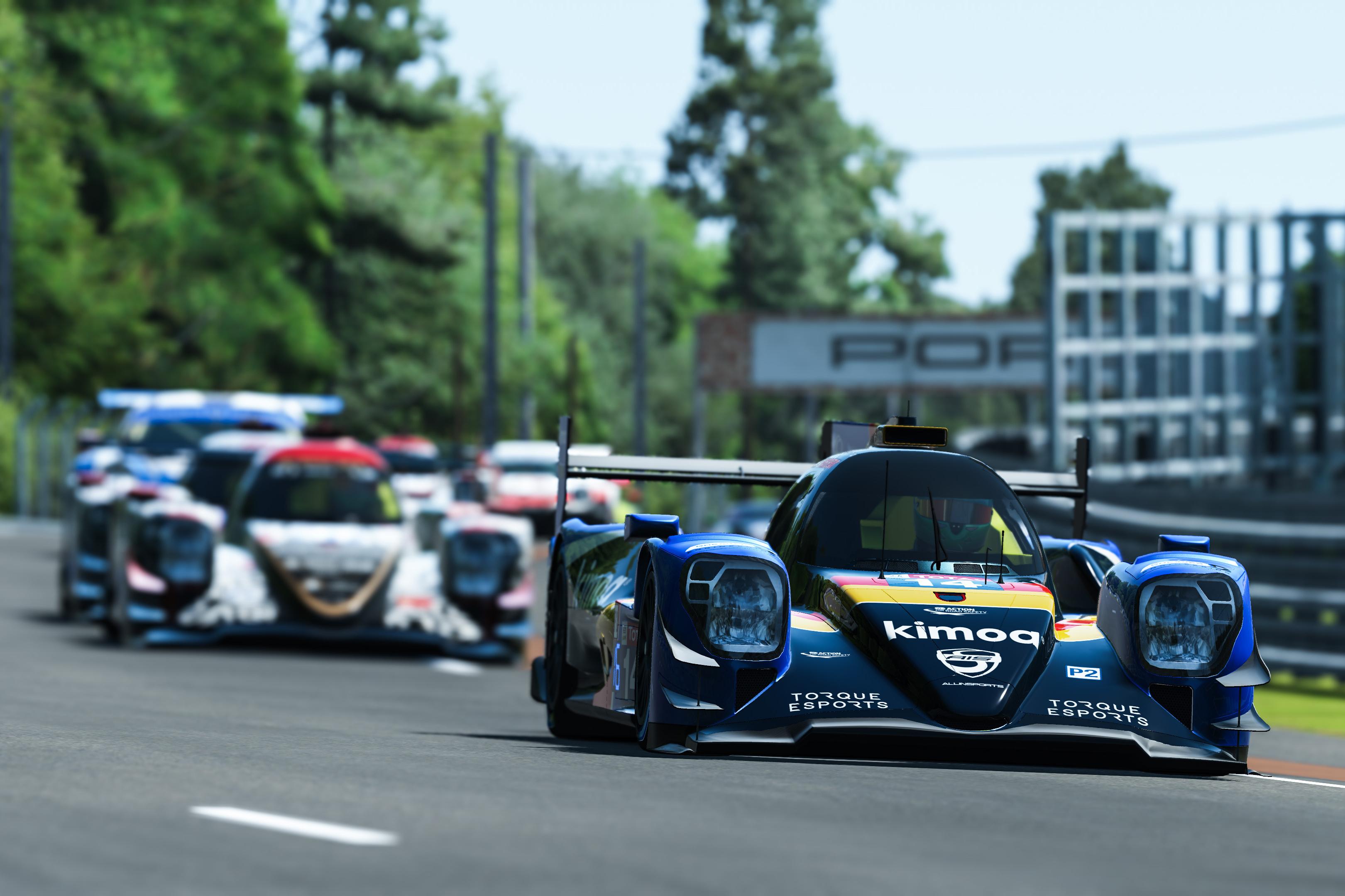 FA/RB Allinsports Alonso Barrichello virtual Le Mans