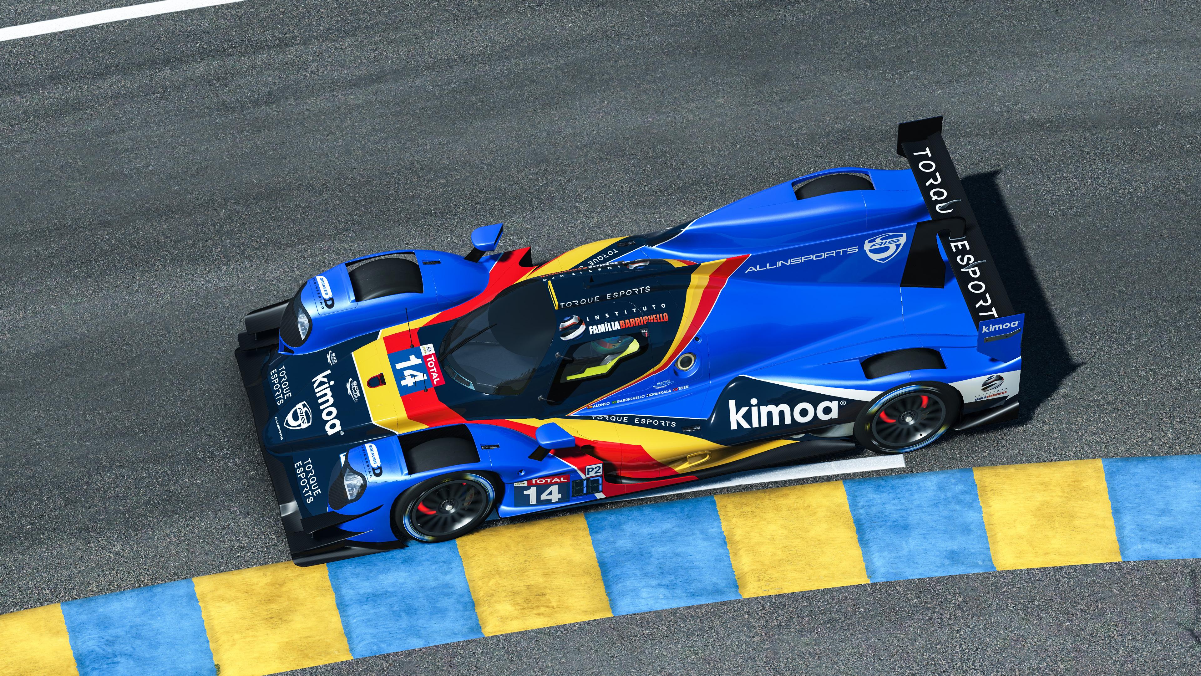 FA/RB Allinsports Virtual Le Mans Alonso Barrichello