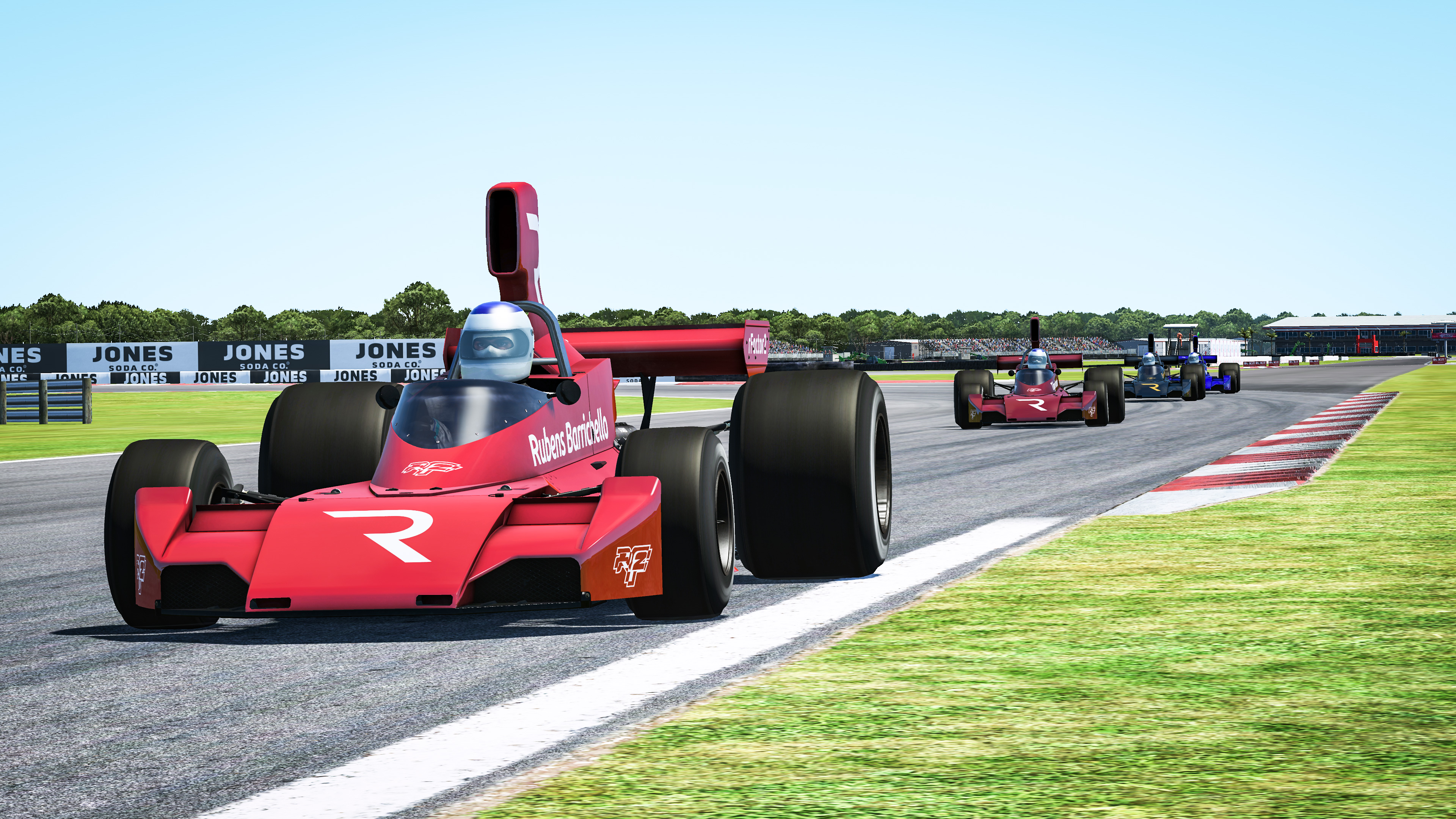 Rubens Barrichello The Race Legends Trophy