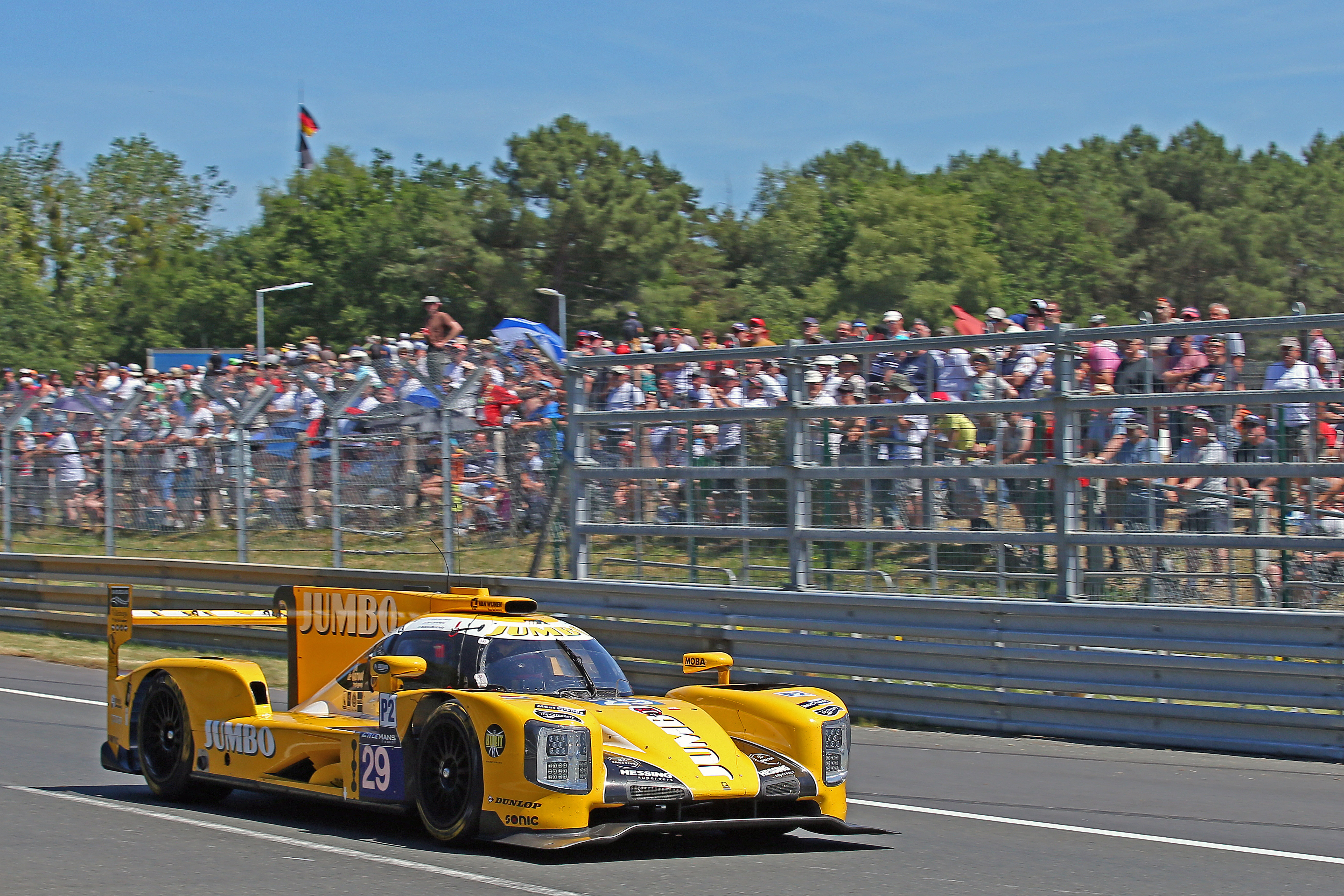 Jan Lammers Rubens Barrichello Team Nederland Le Mans 2017