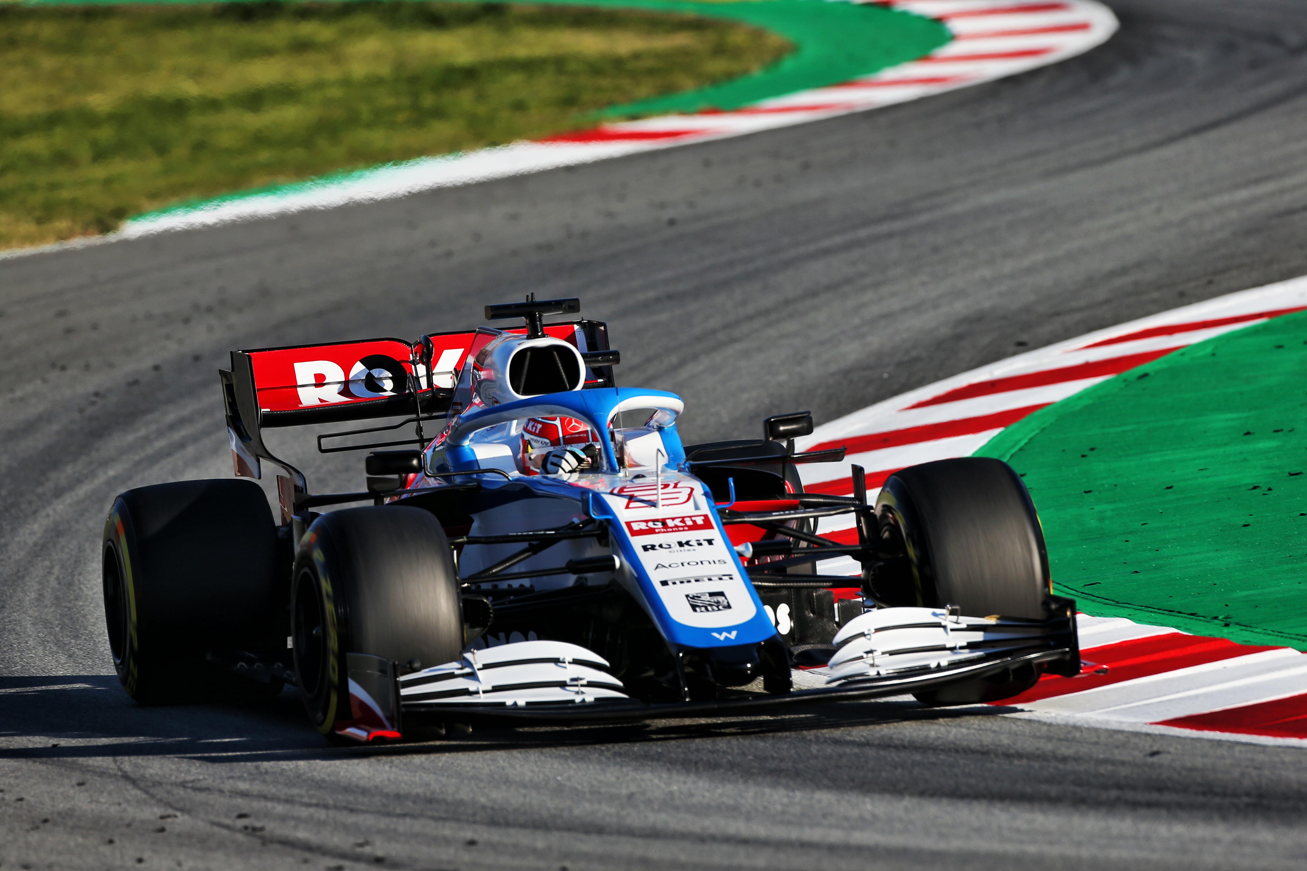 Motor Racing Formula One Testing Test One Day 2 Barcelona, Spain