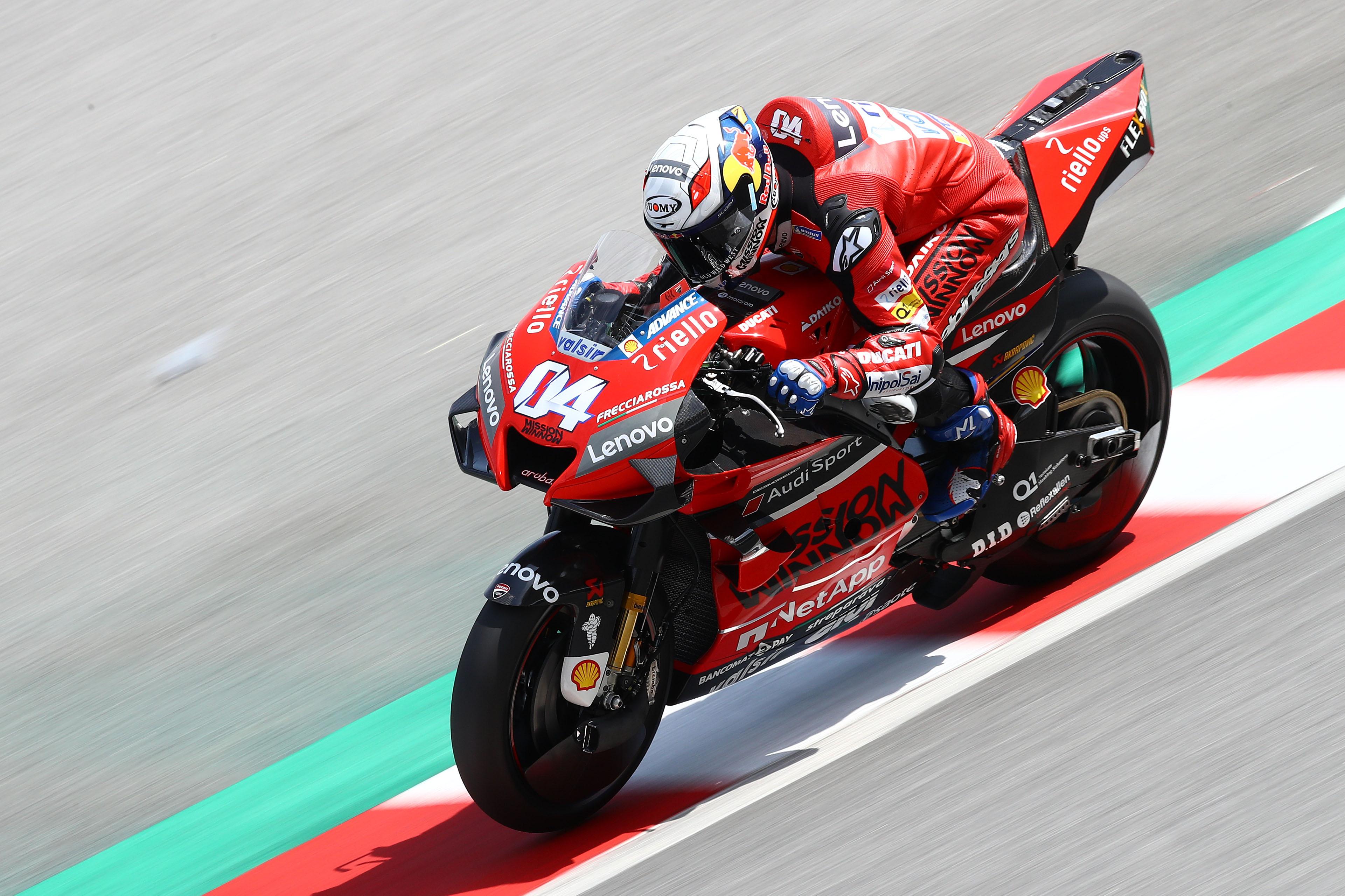 Andrea Dovizioso Ducati MotoGP testing 2020