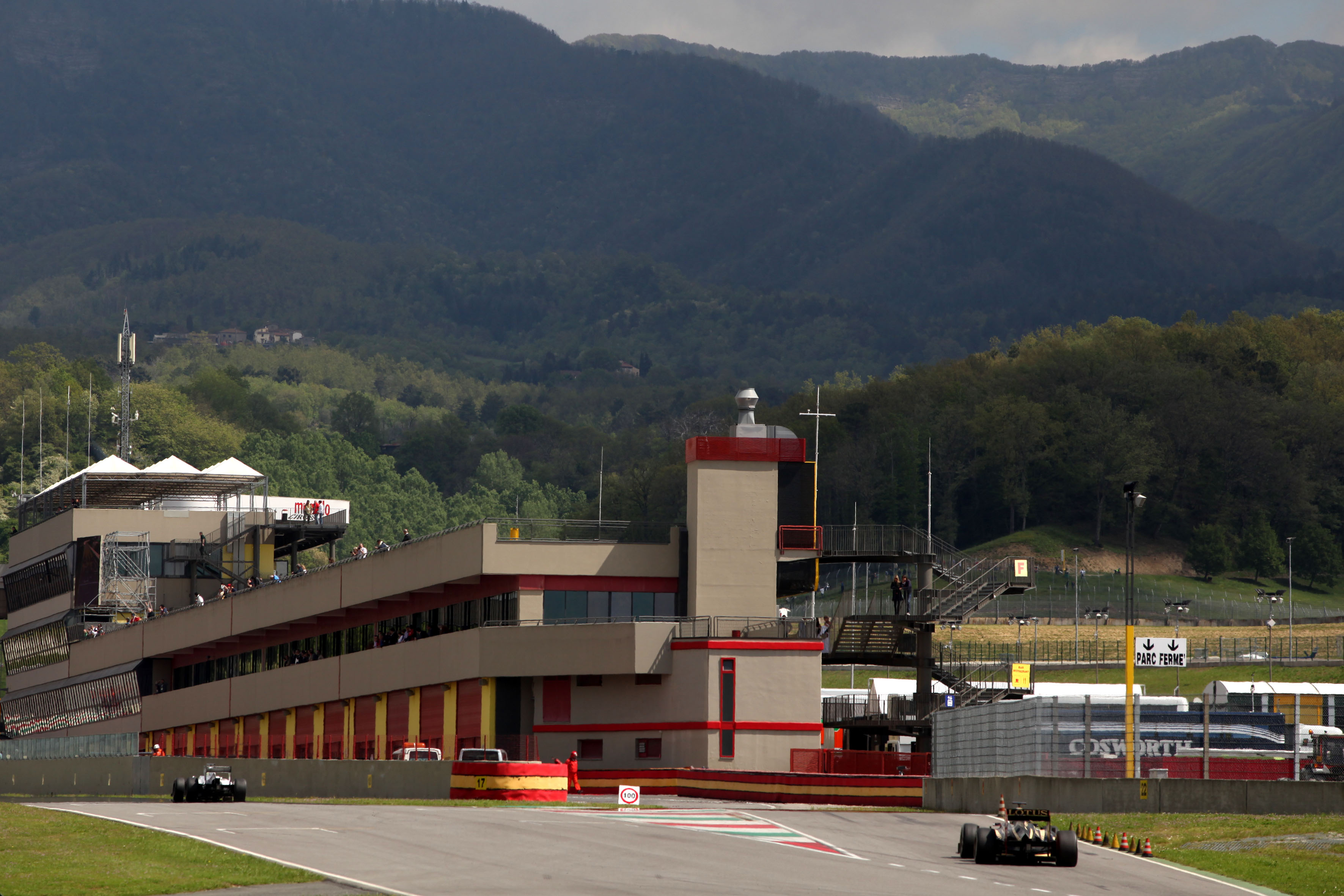 Motor Racing Formula One World Championship Formula 1 Testing Day 3 Mugello, Italy