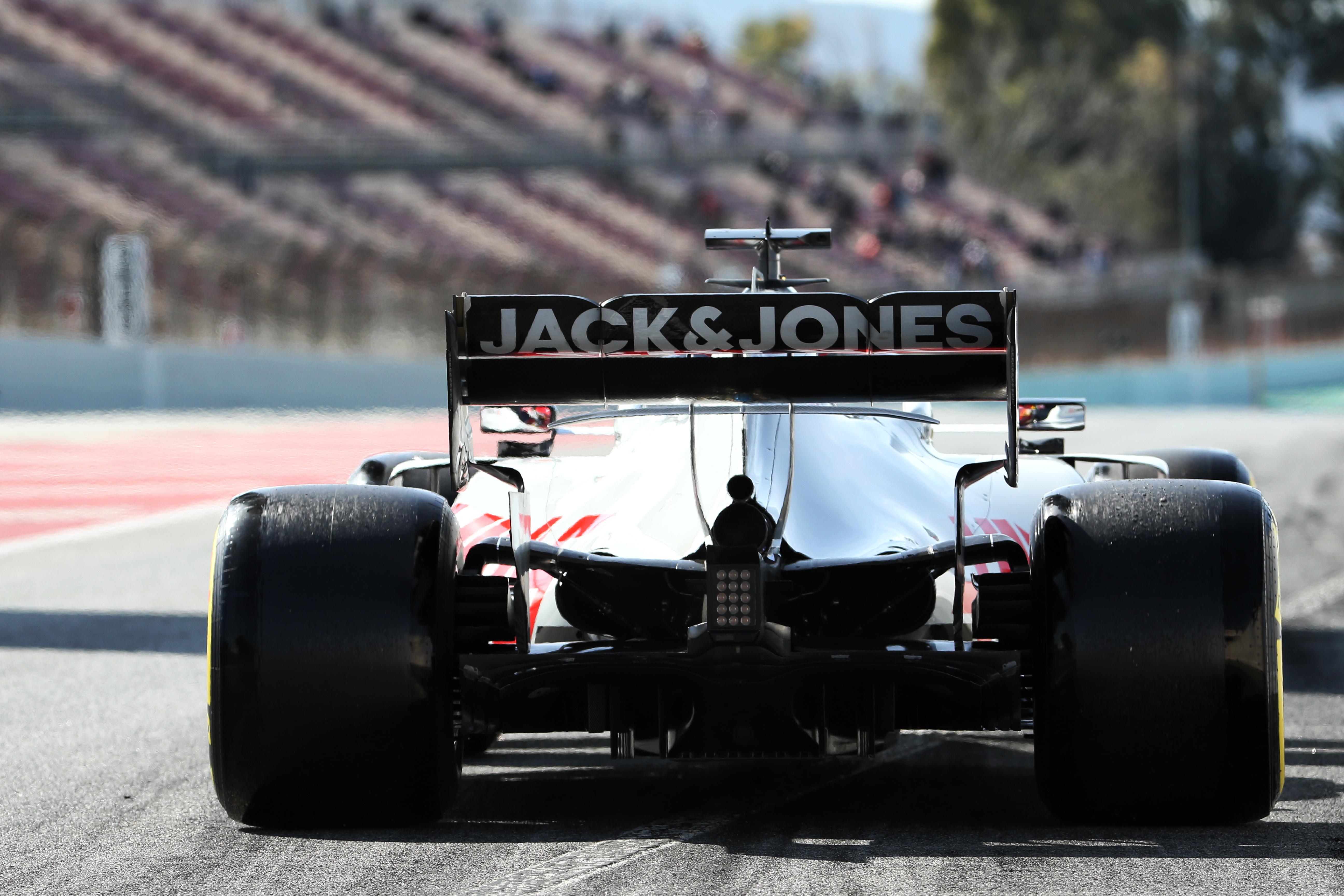 Kevin Magnussen Haas Barcelona F1 testing 2020