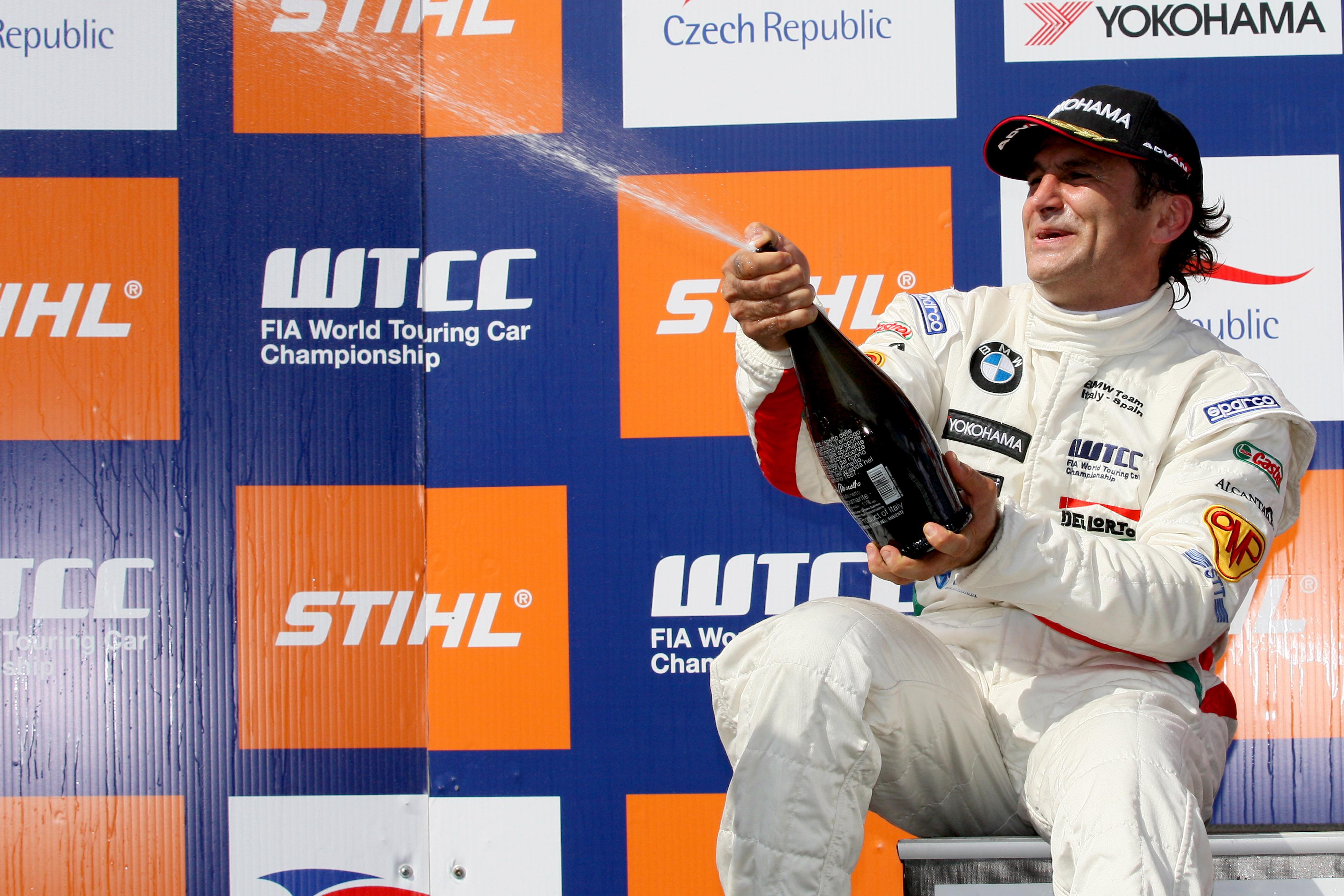Alex Zanardi Brno WTCC win 2008