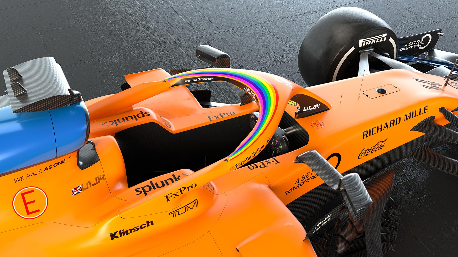 McLaren rainbow