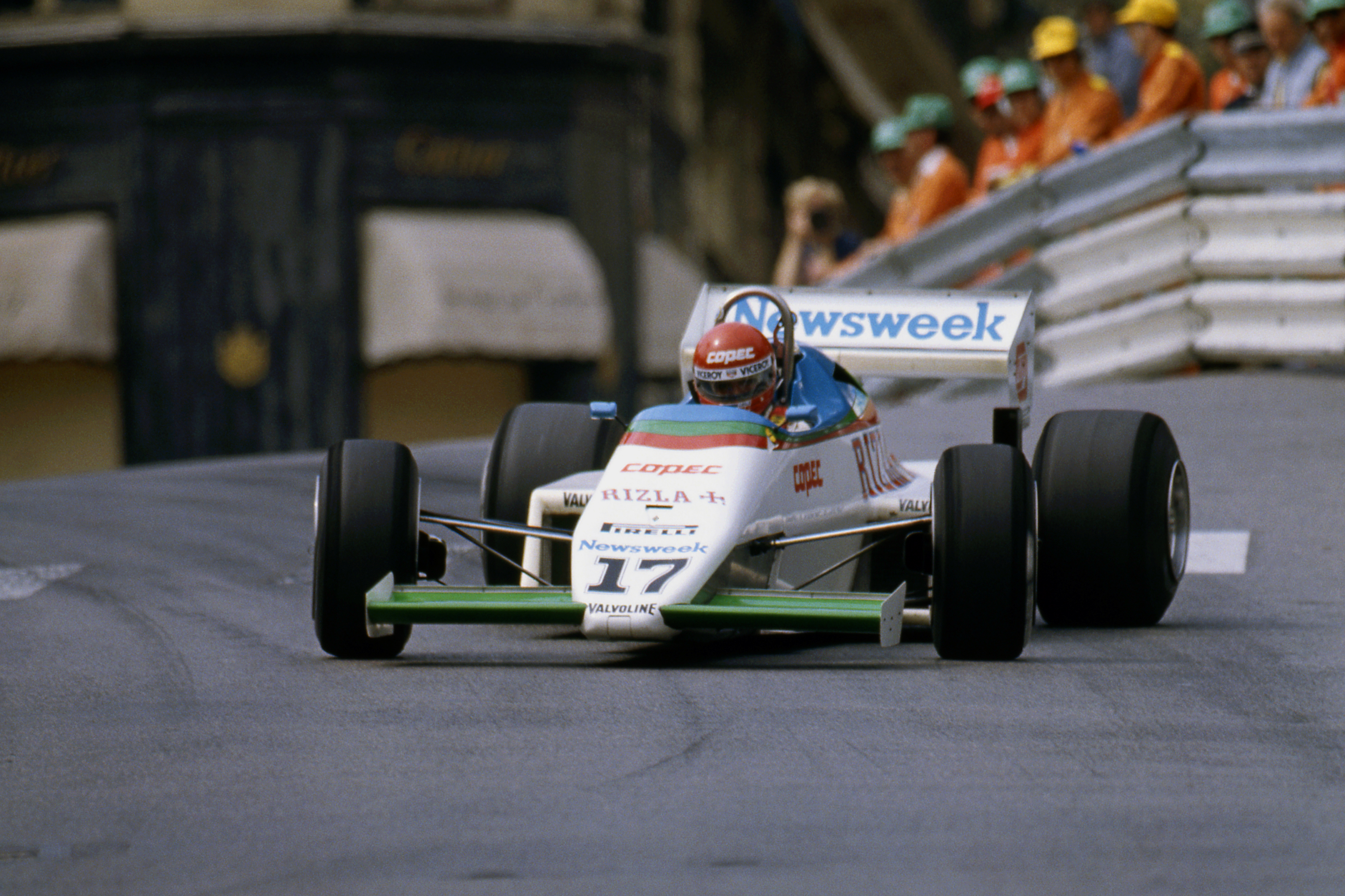 Eliseo Salazar RAM March Monaco Grand Prix 1983