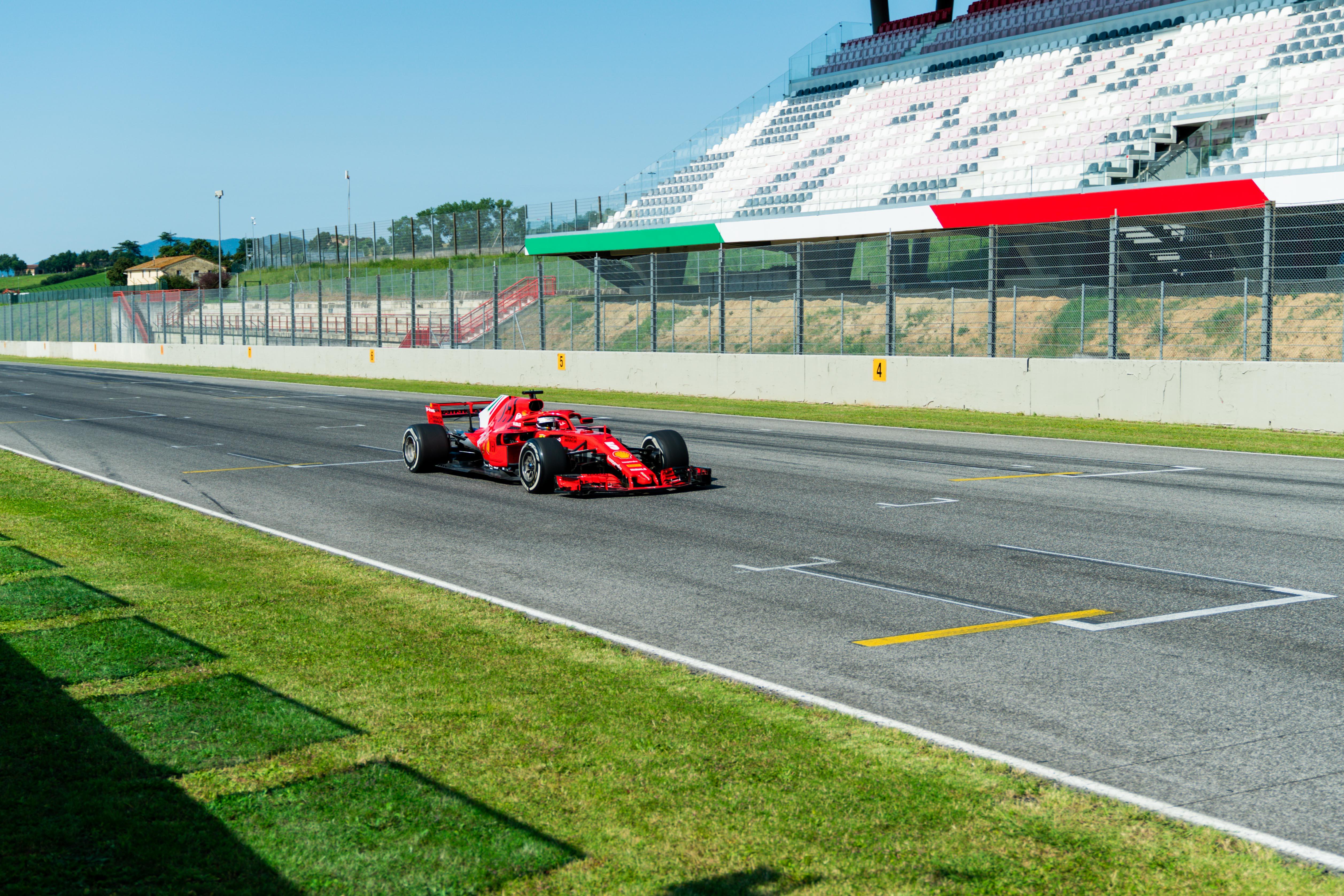 Sebastian Vettel Ferrari Mugello test