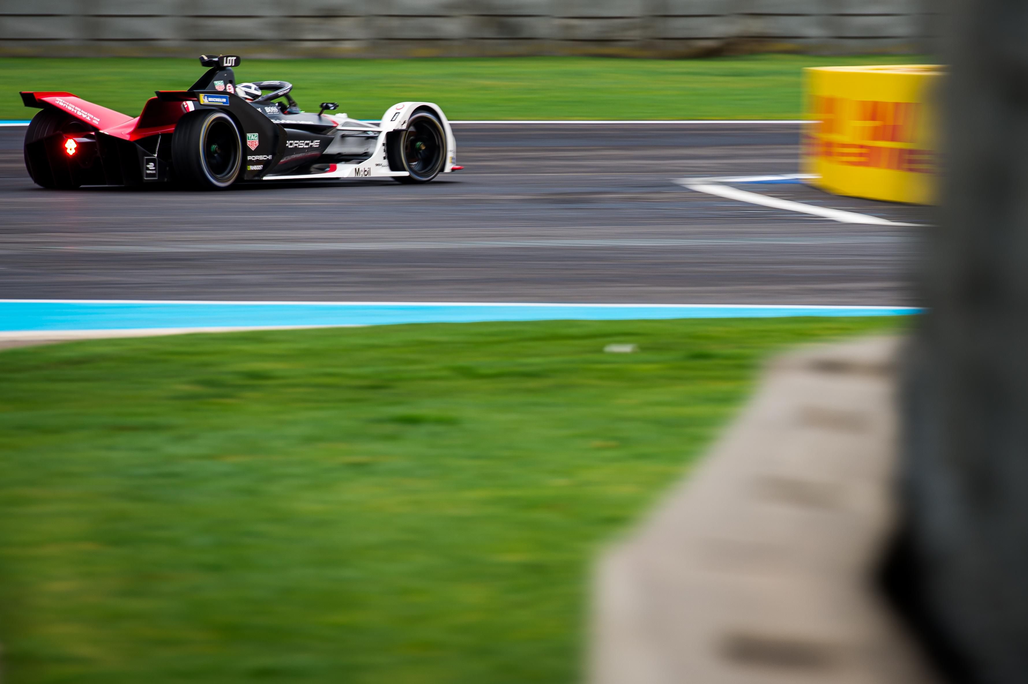 Andre Lotterer Porsche Mexico City Formula E 2020